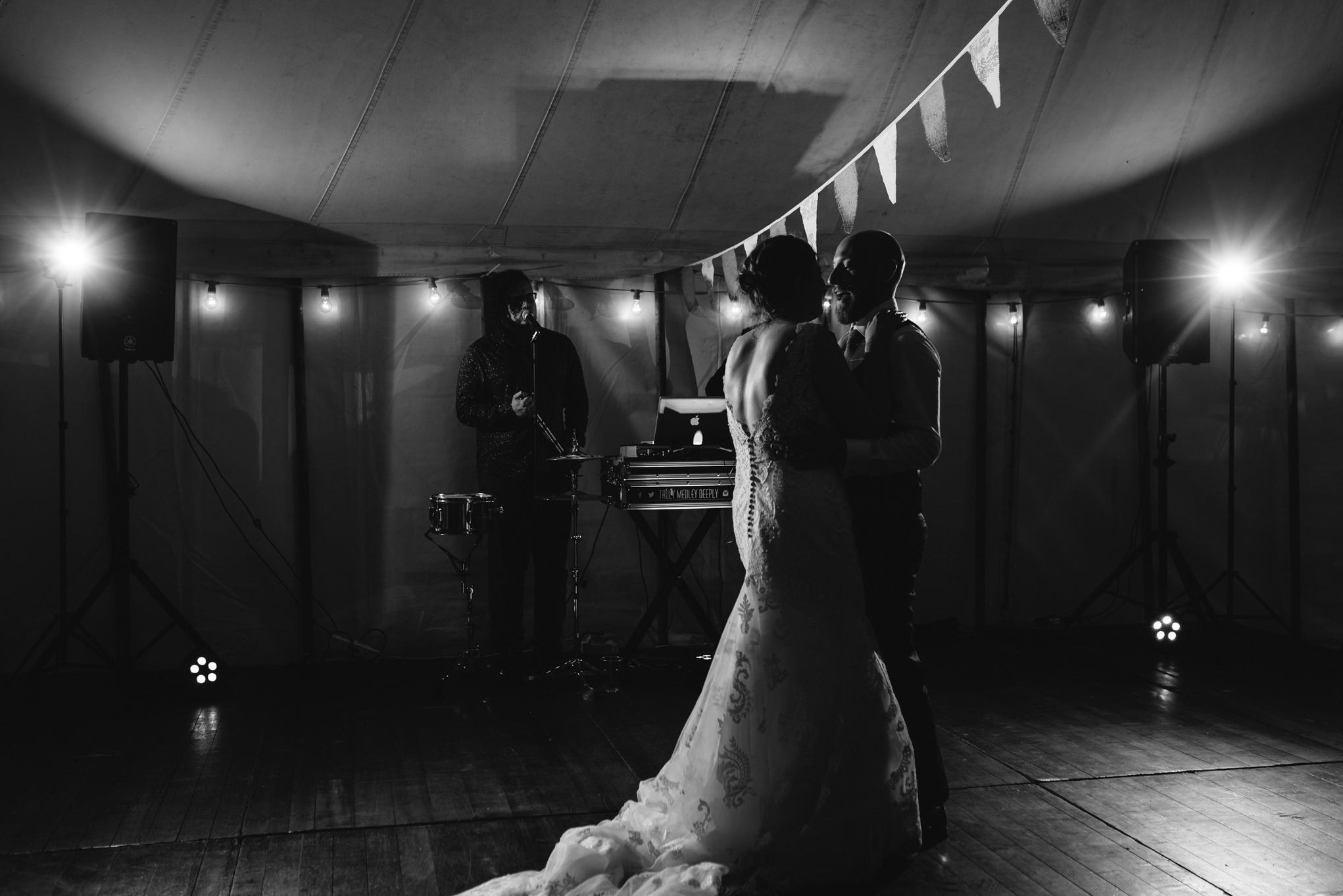 Wedding first dance - Powys Wedding Photography