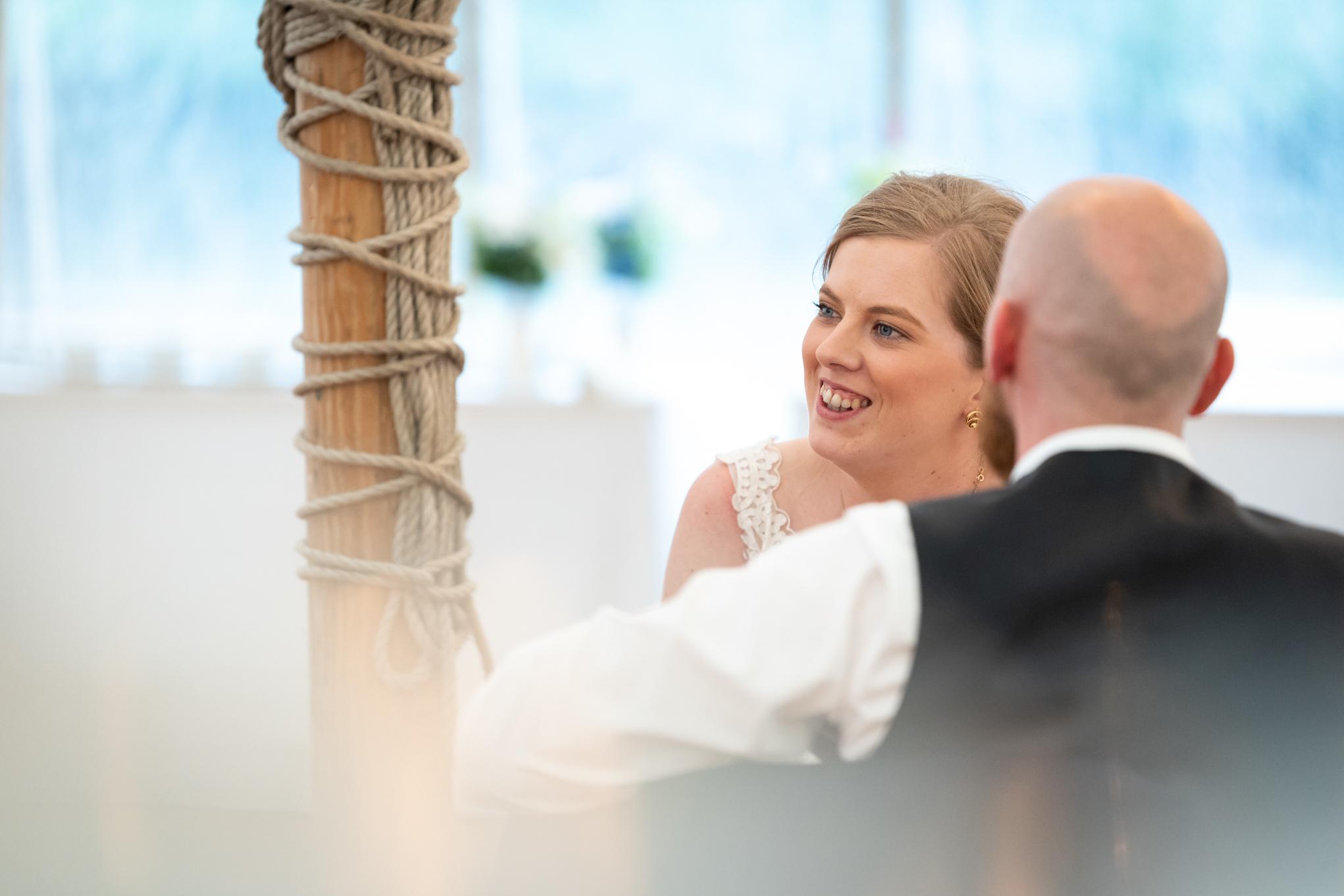 Wedding bride - Powys Wedding Photography