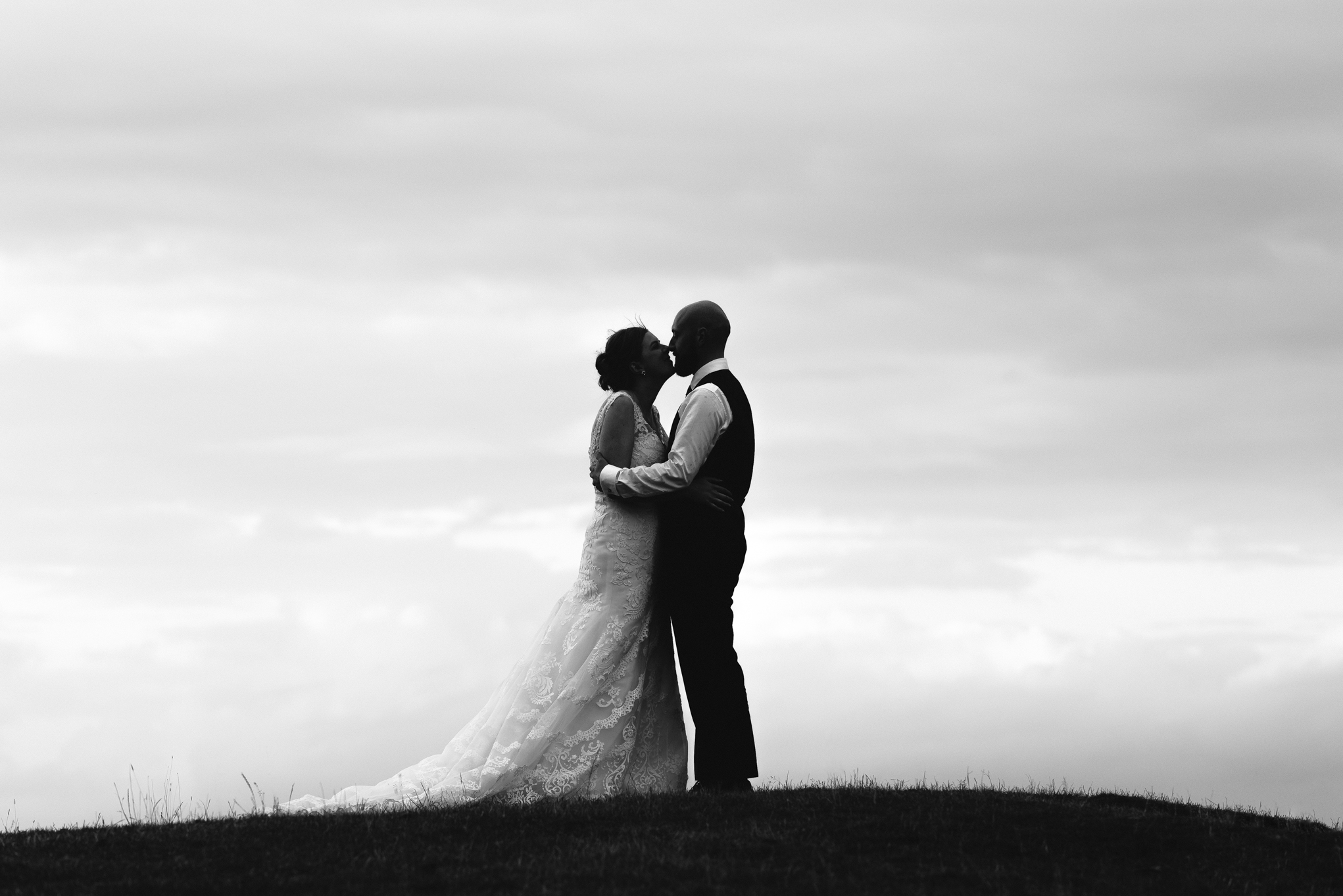 Bride & Groom - Powys Wedding Photography