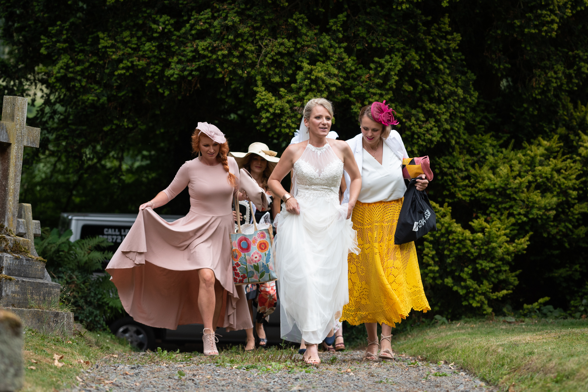 Copy of Bride arriving at Church