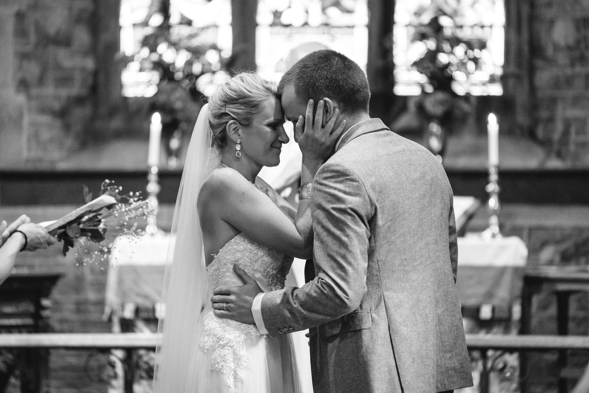 Copy of Church Wedding Ceremony Bride & Groom
