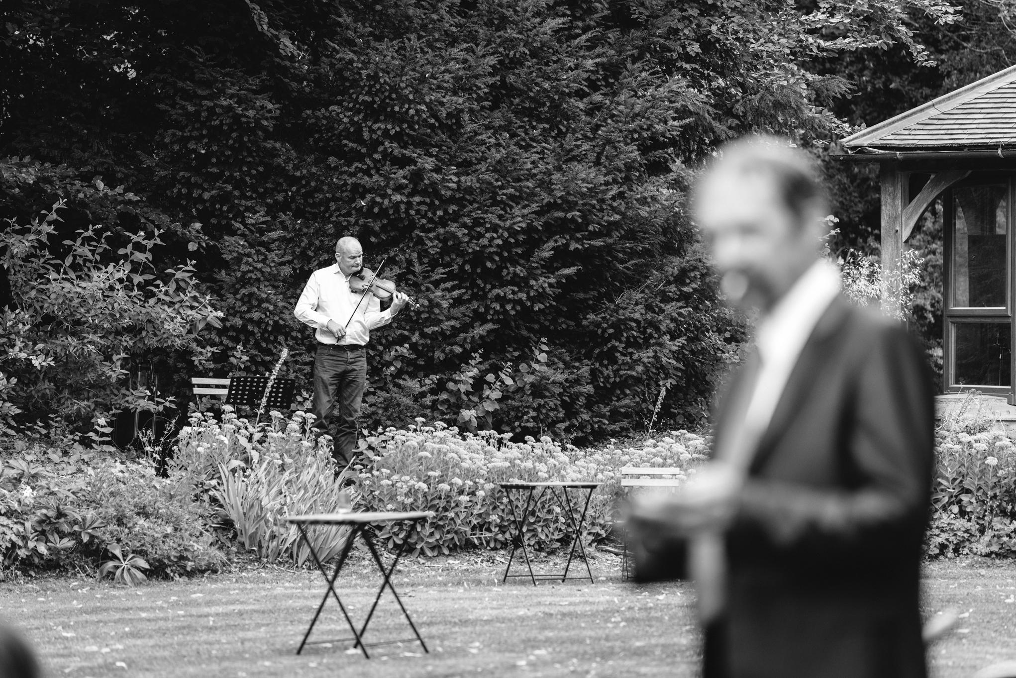 Copy of Violin player at Wedding Reception