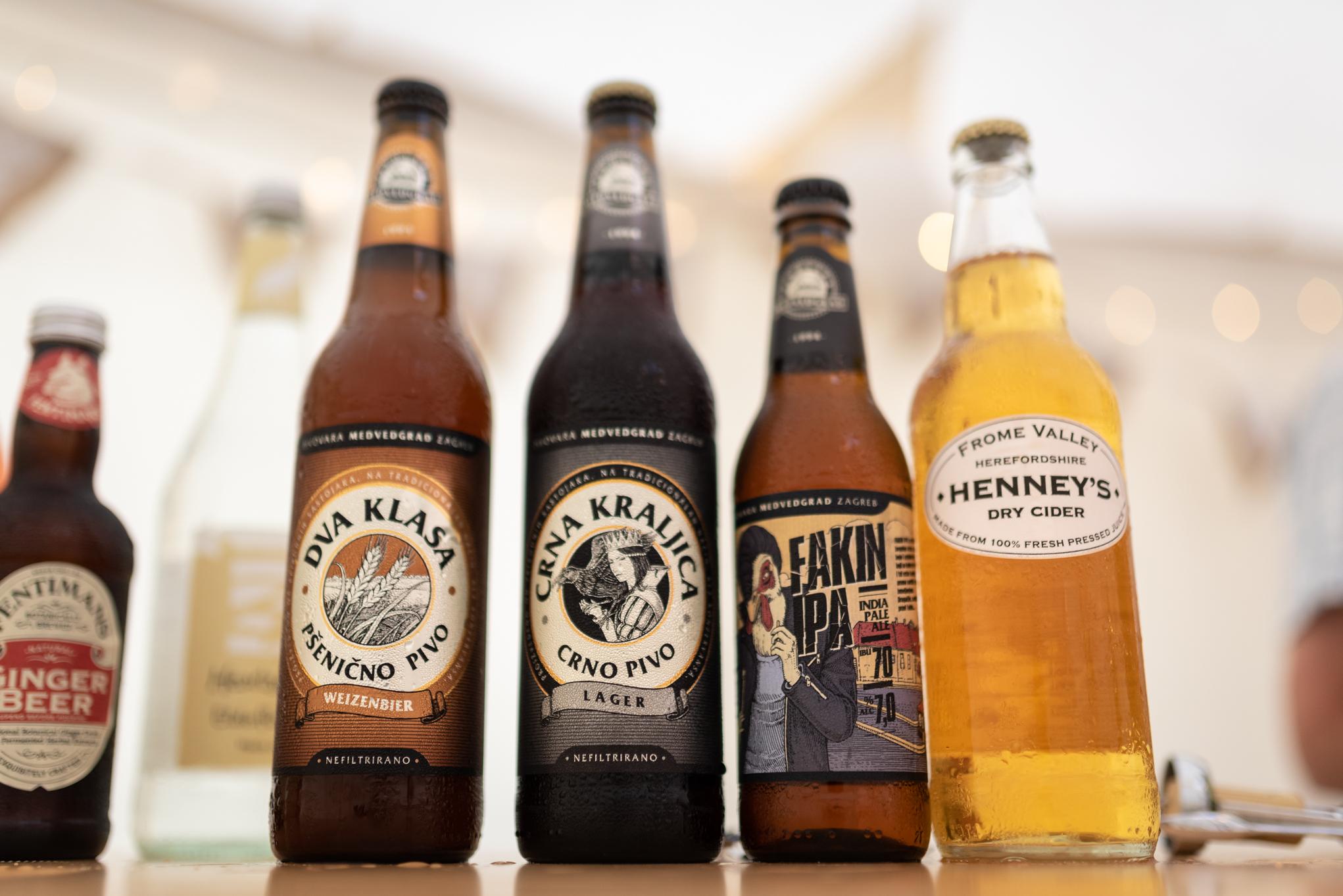 Copy of Croatian & British Beers