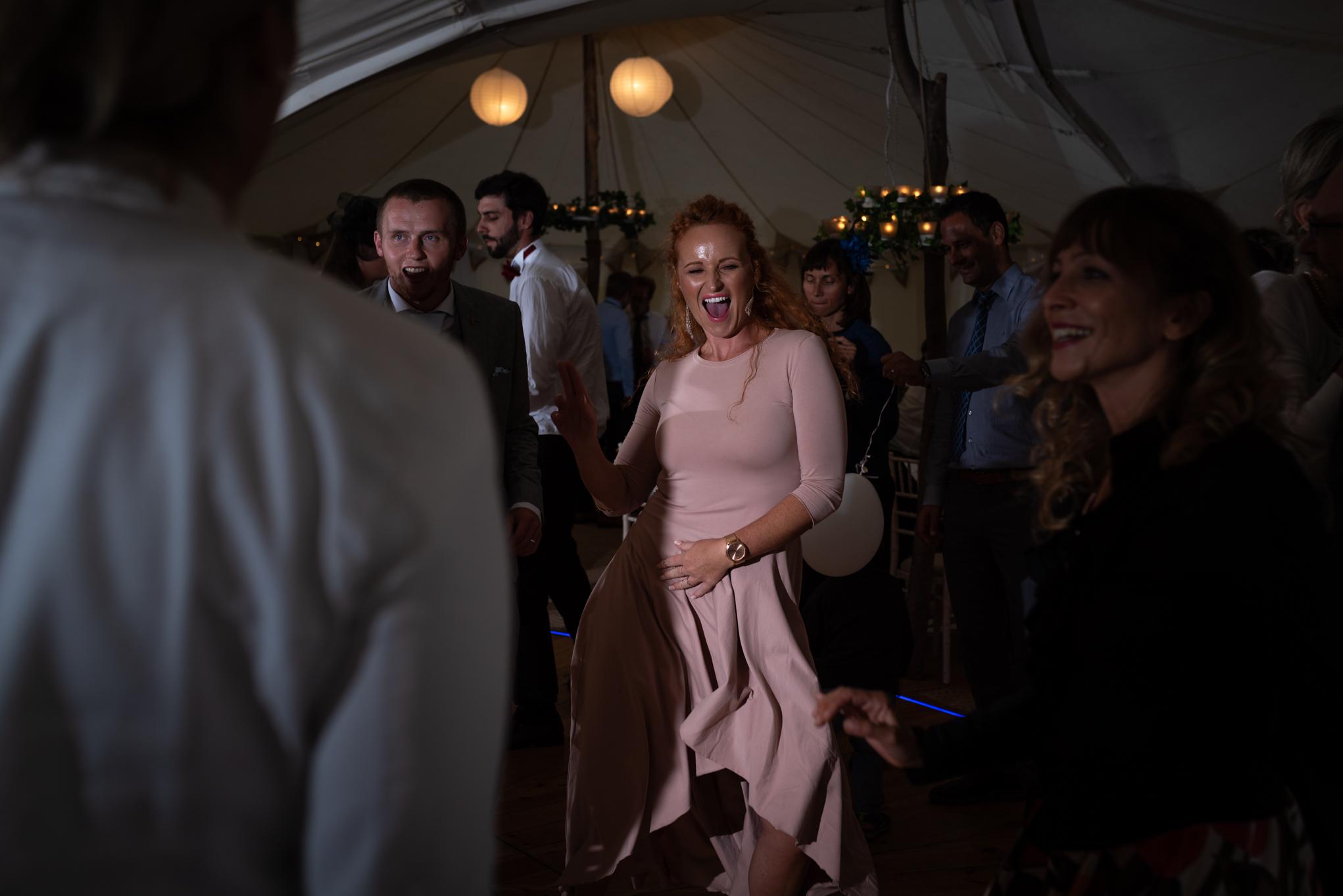 Copy of Bridesmaids Wedding Party Dancing