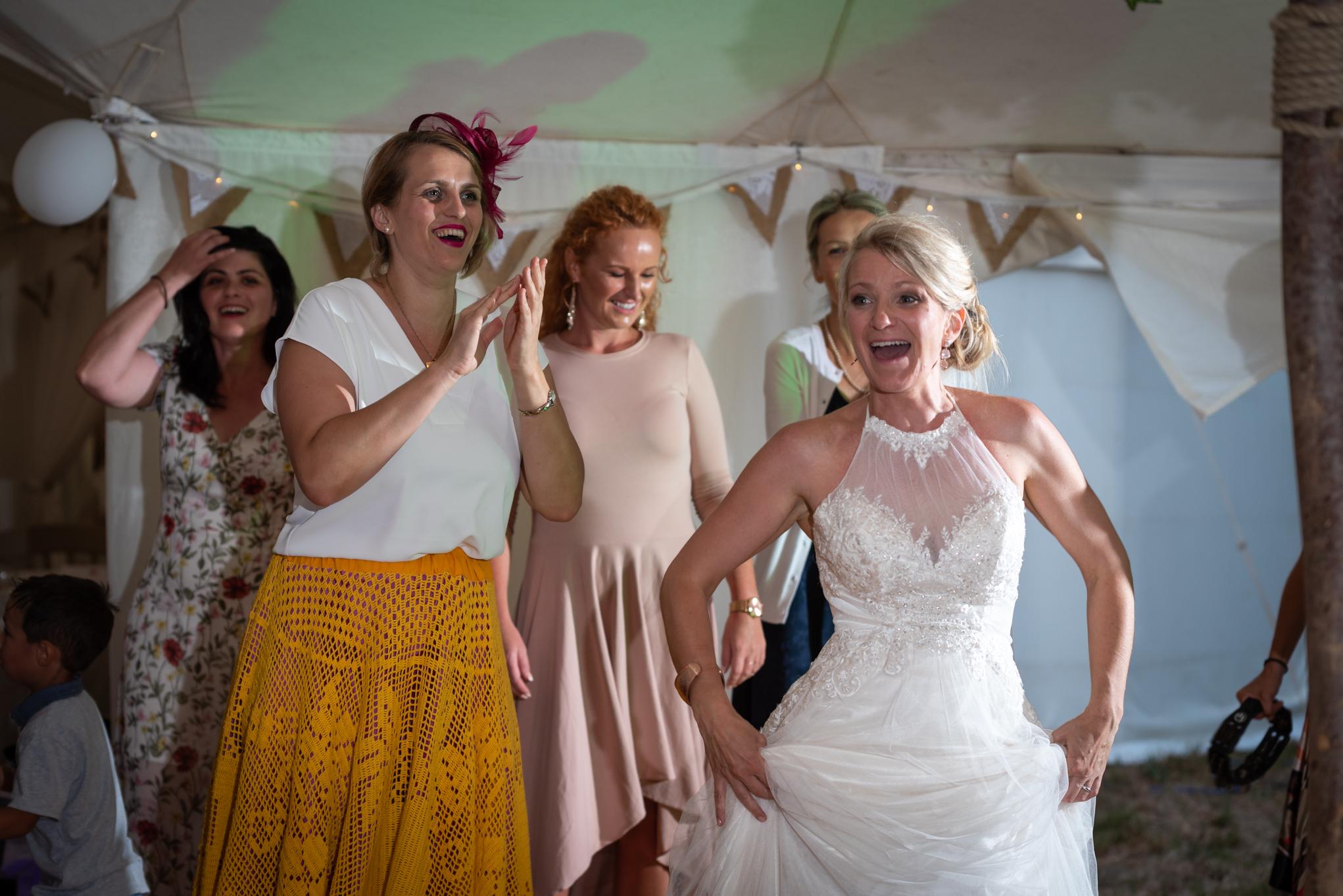 Copy of Bride Wedding Party Dancing