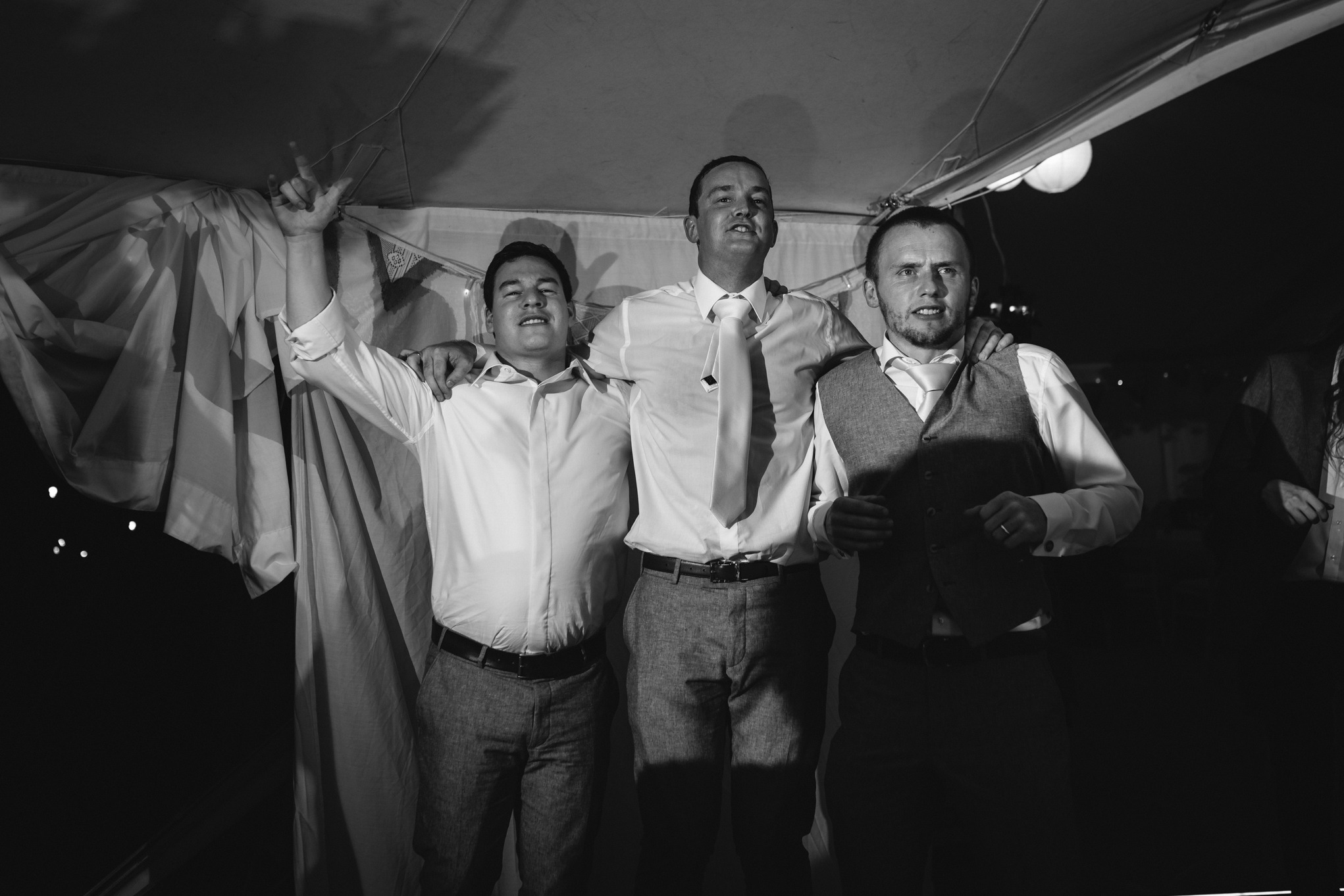 Copy of Groom & Best Men Dancing