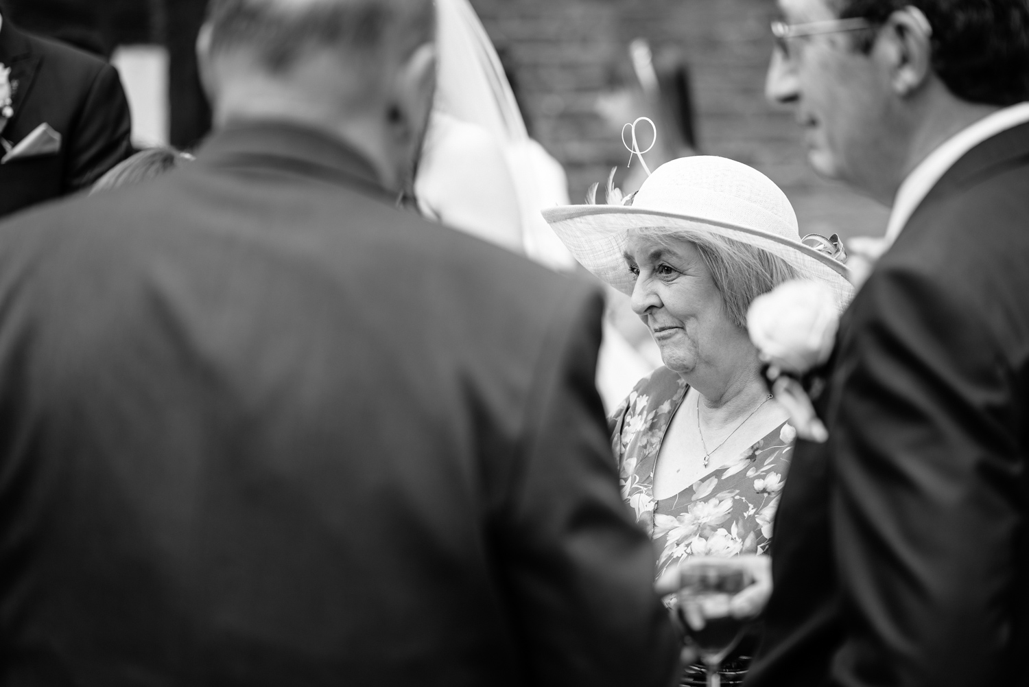Mother of bride at Albright Hussey