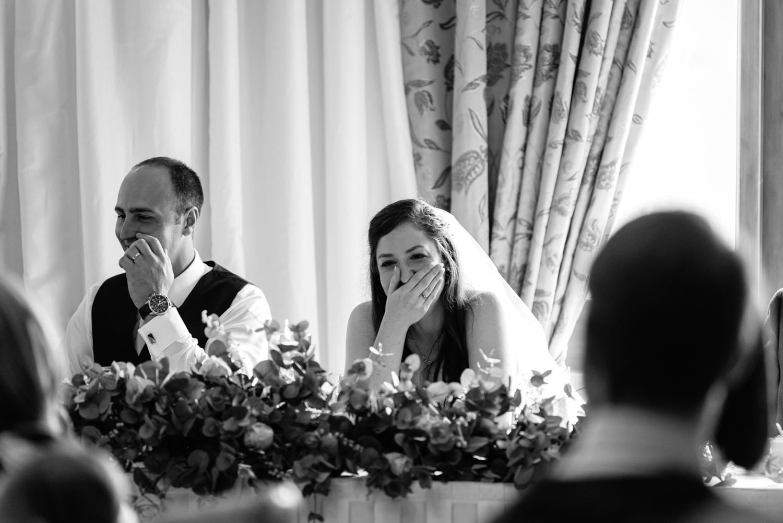 Albright Hussey Manor wedding speeches