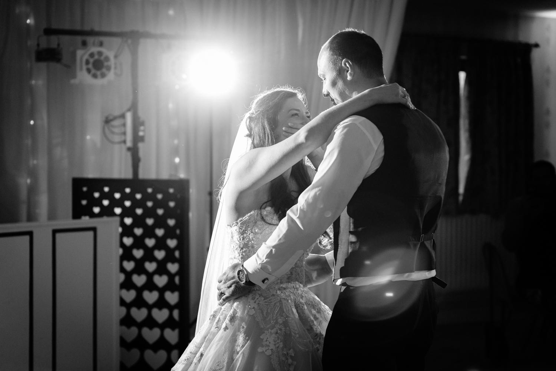 Albright Hussey wedding first dance