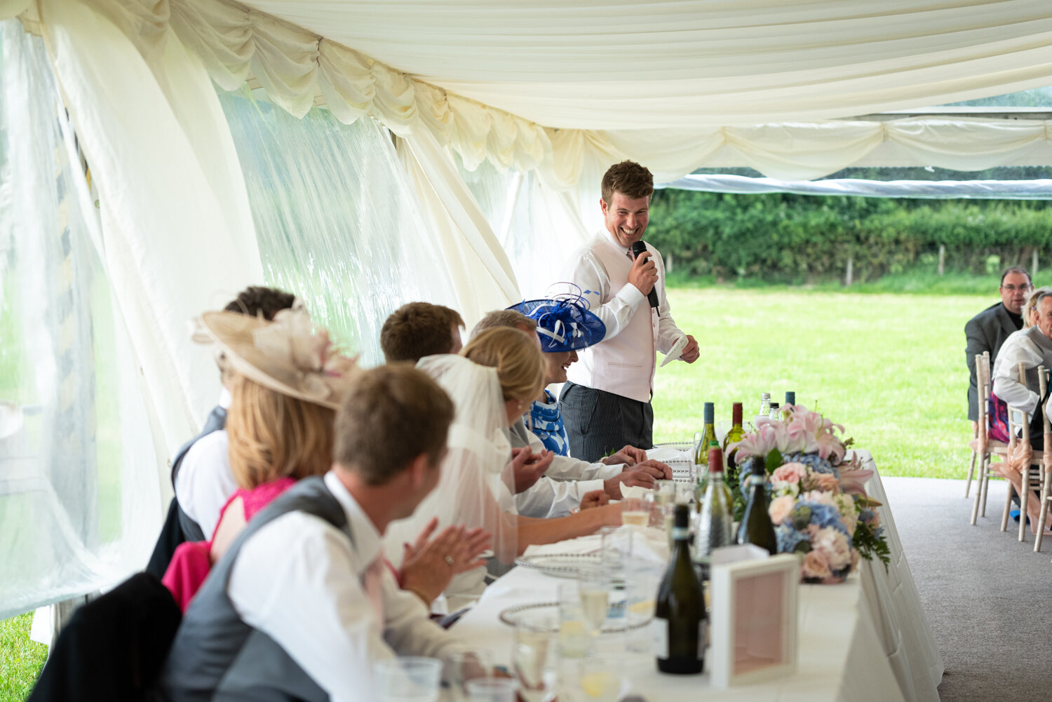 Powys wedding speeches