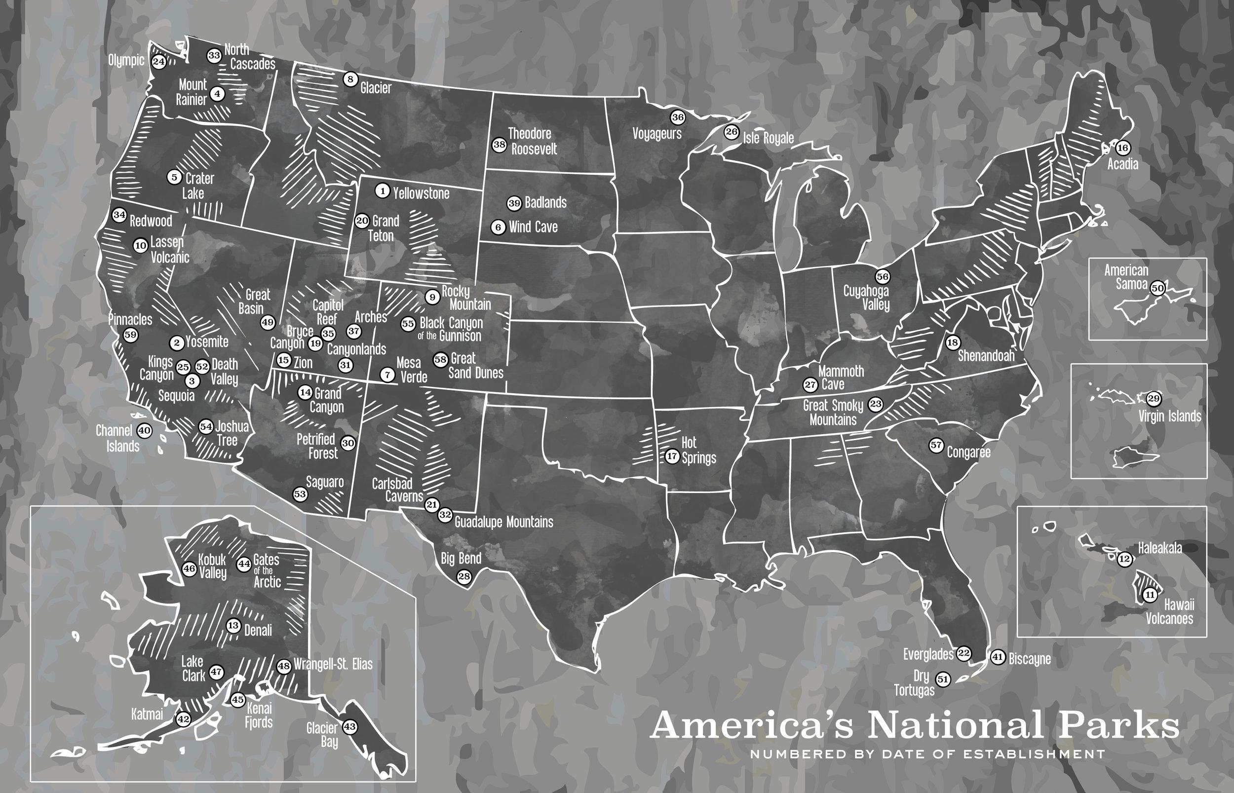 United States National Parks, 2015