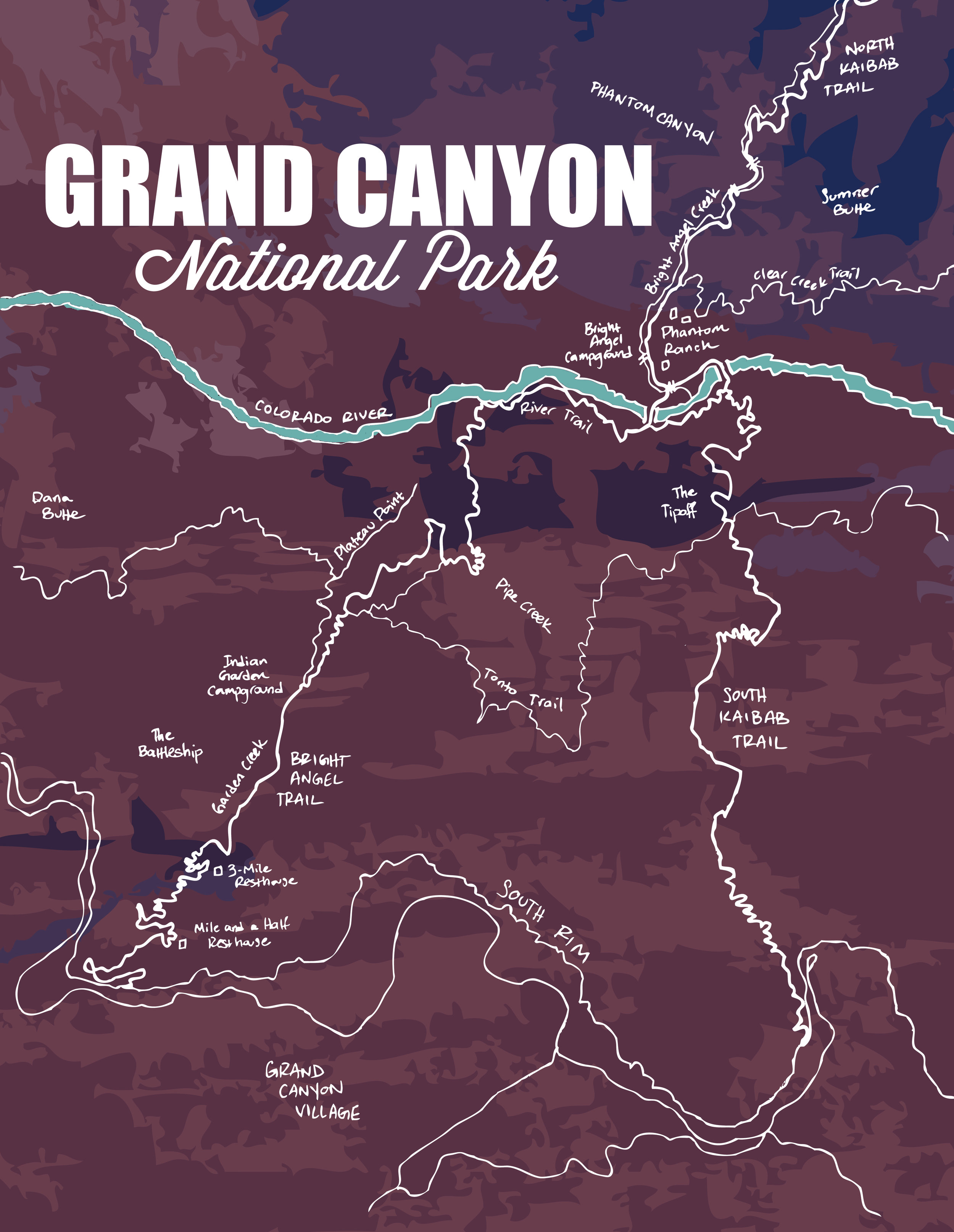 Grand Canyon National Park, 2015