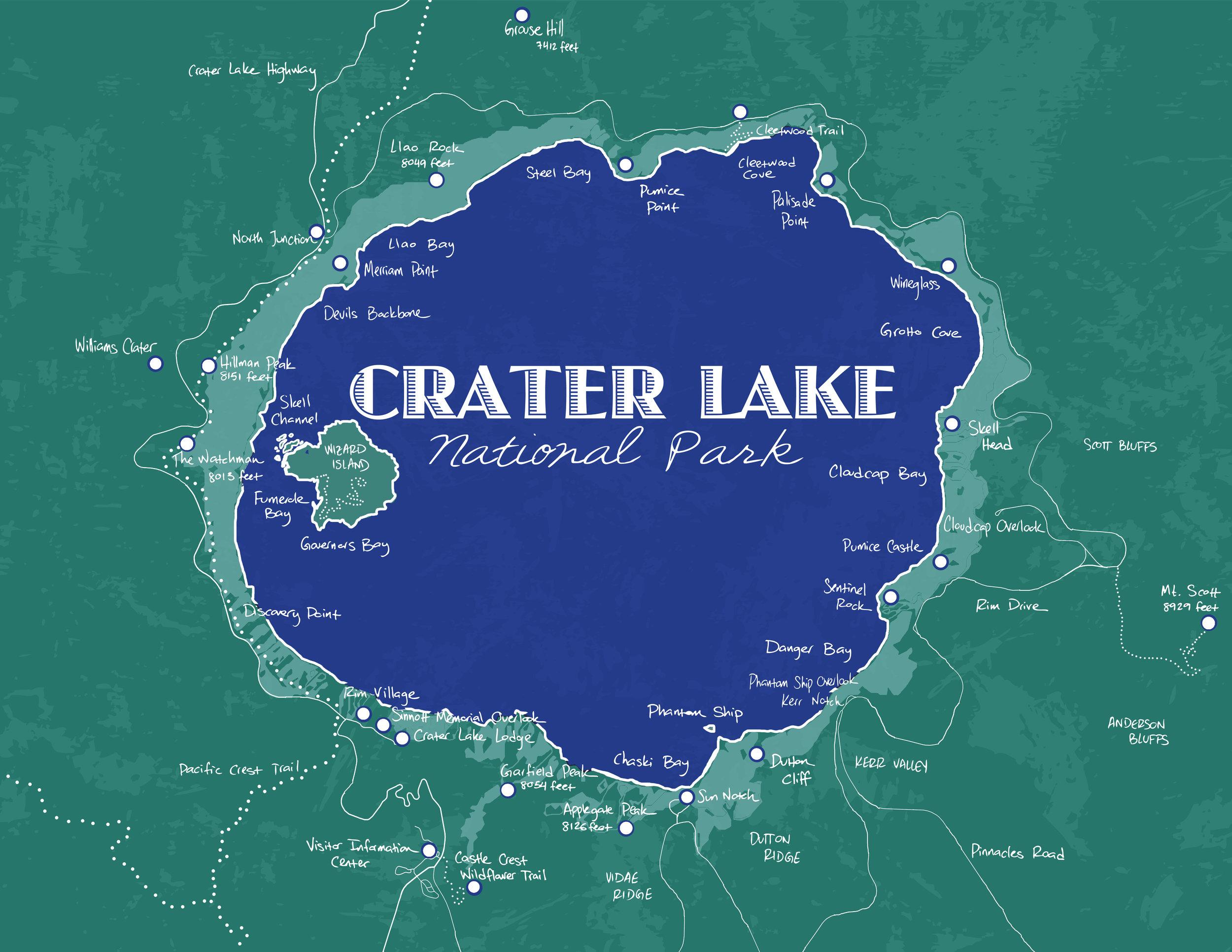 Crater Lake National Park, 2015