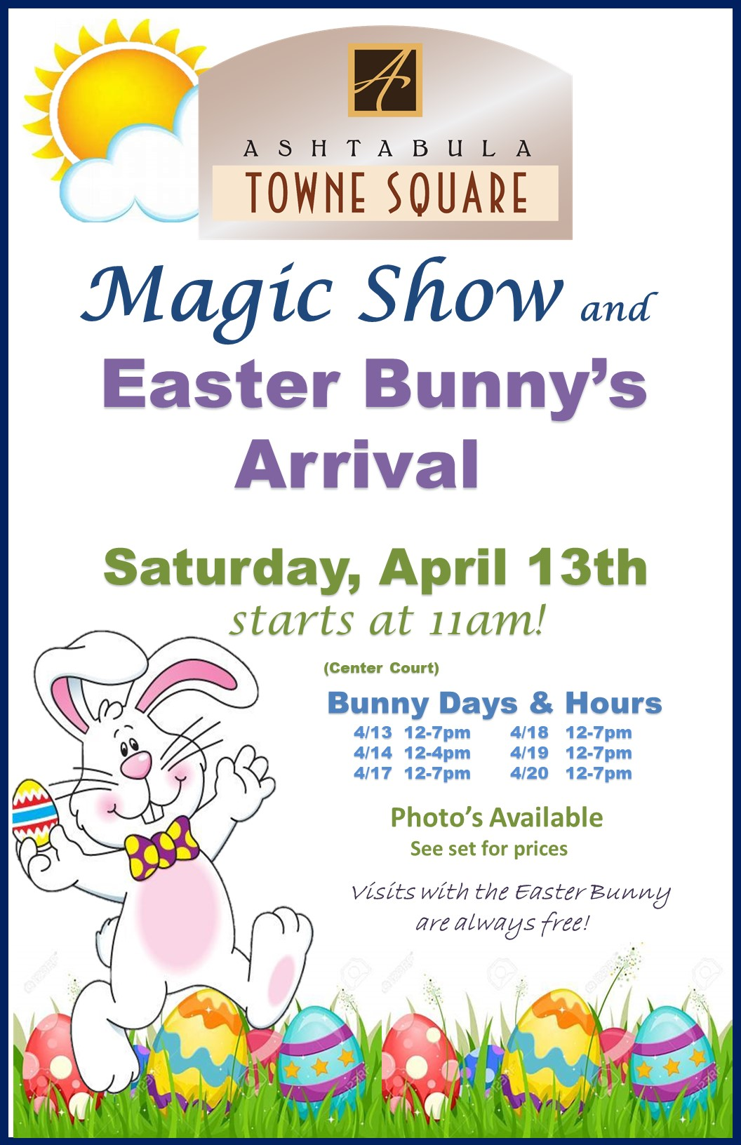 2019 Magic Show Easter Bunny ARRIVAL POSTER.jpg
