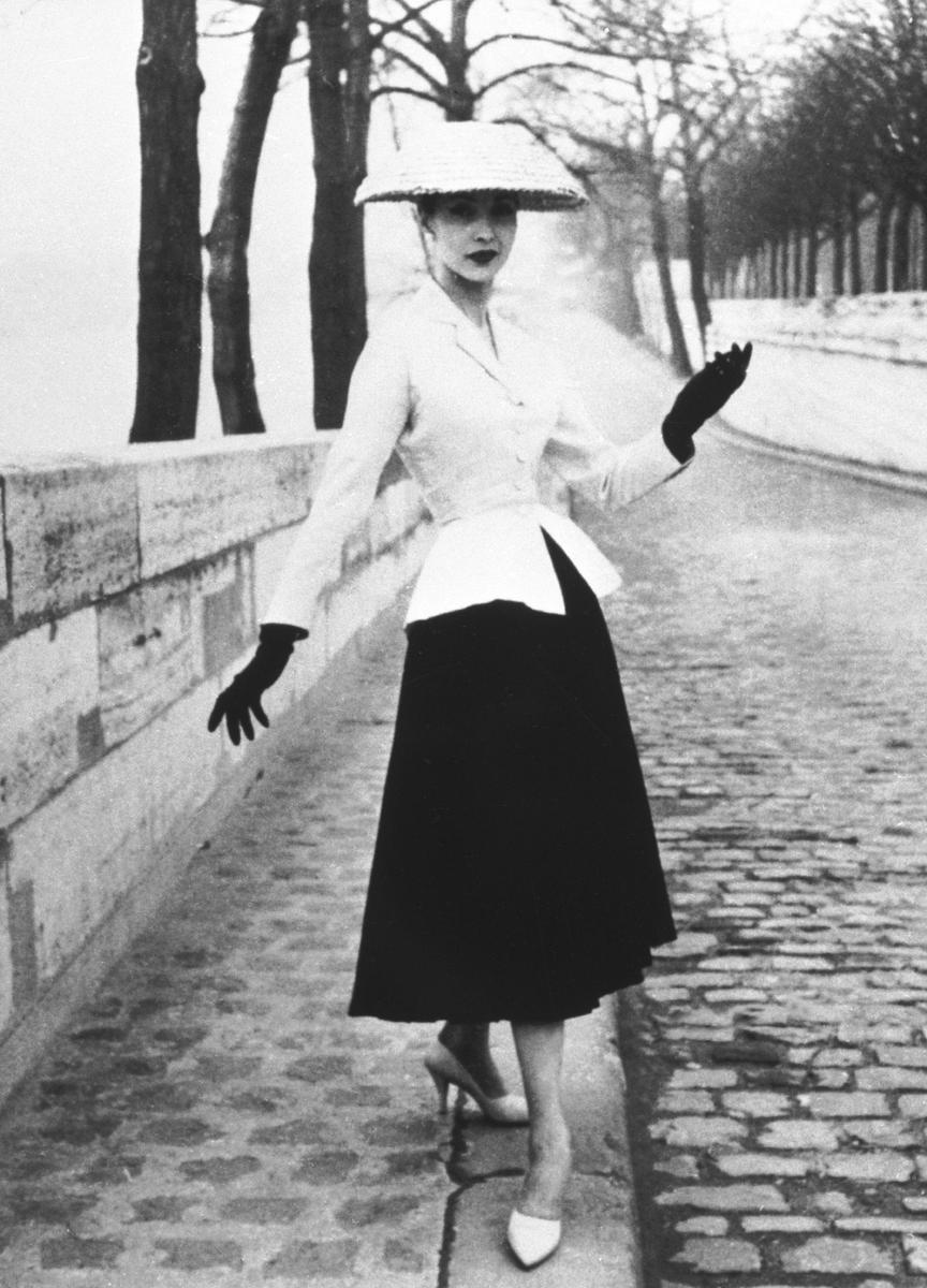 Christian Dior's New Look, circa 1947