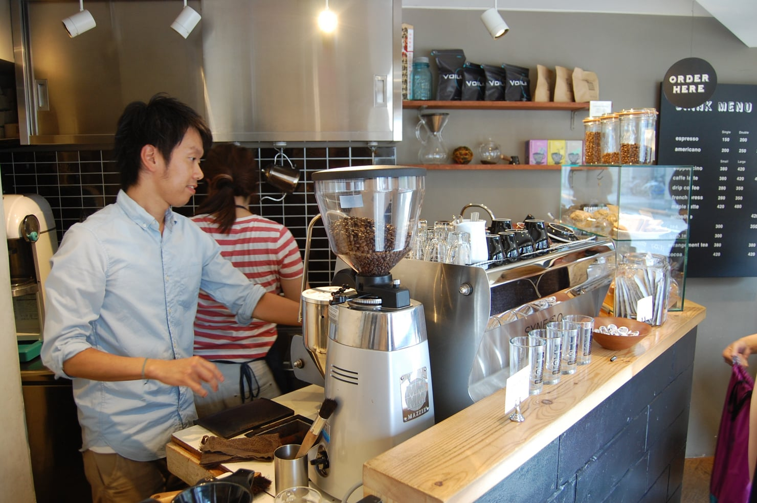Be A Good Nieghbor Coffee Kiosk, Skytree (source: sprudge.com)