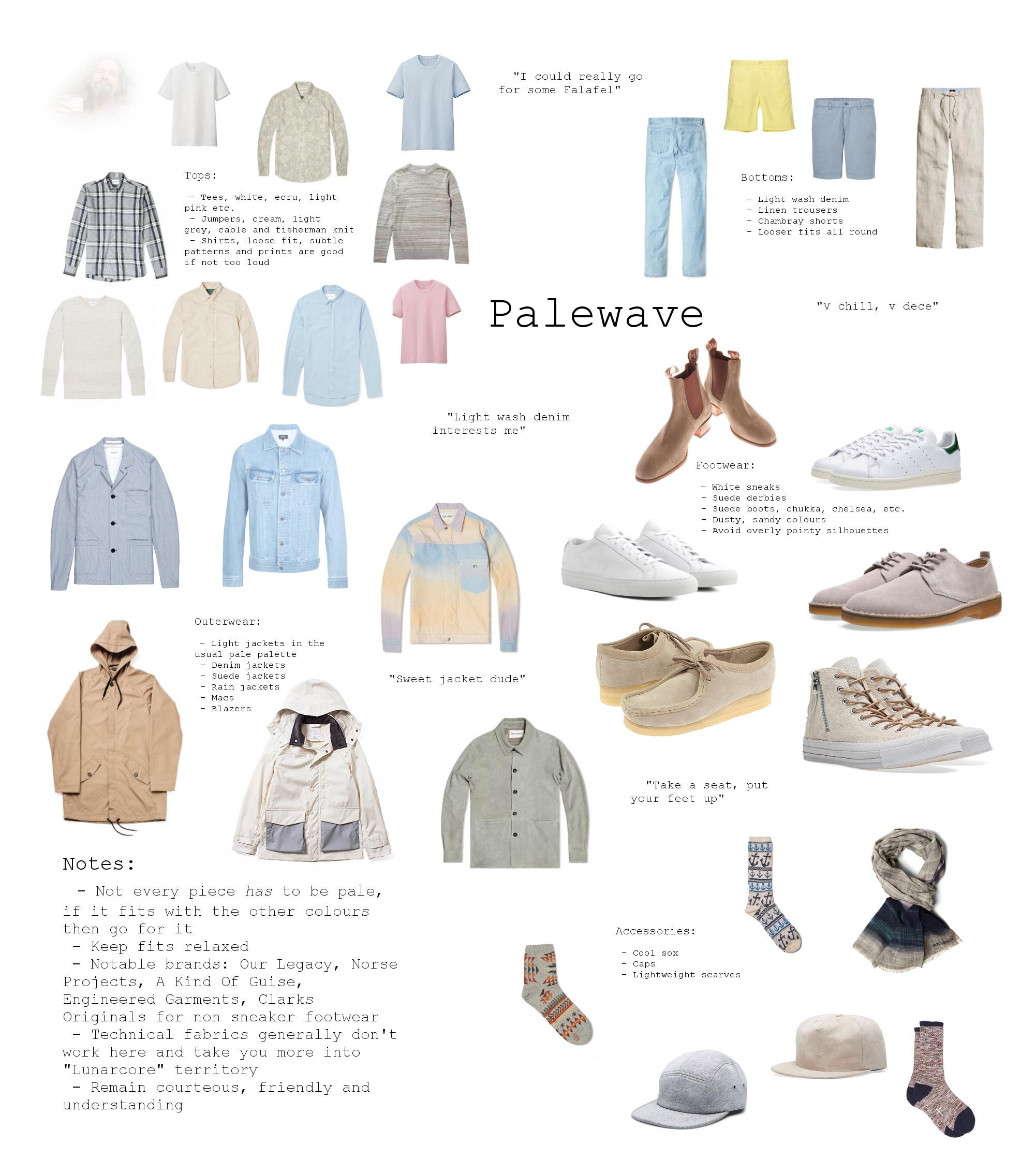 A palewave basics guide by reddit user /u/Joff_Mengum ( source )