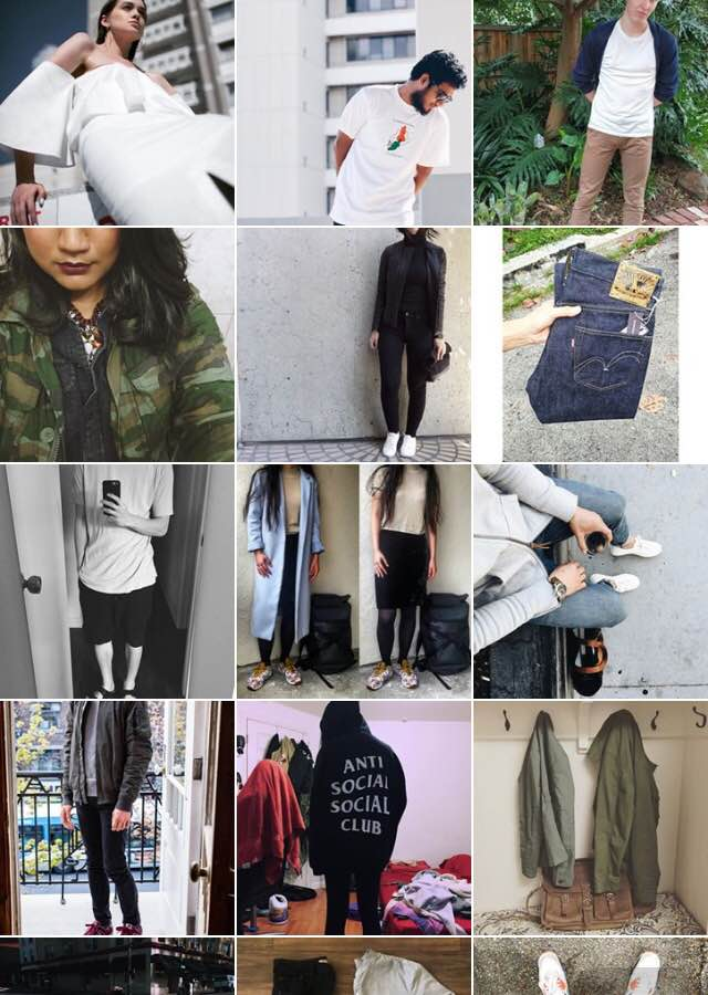 A random sample from the #waywt Instagram hashtag, taken May 13 2016.