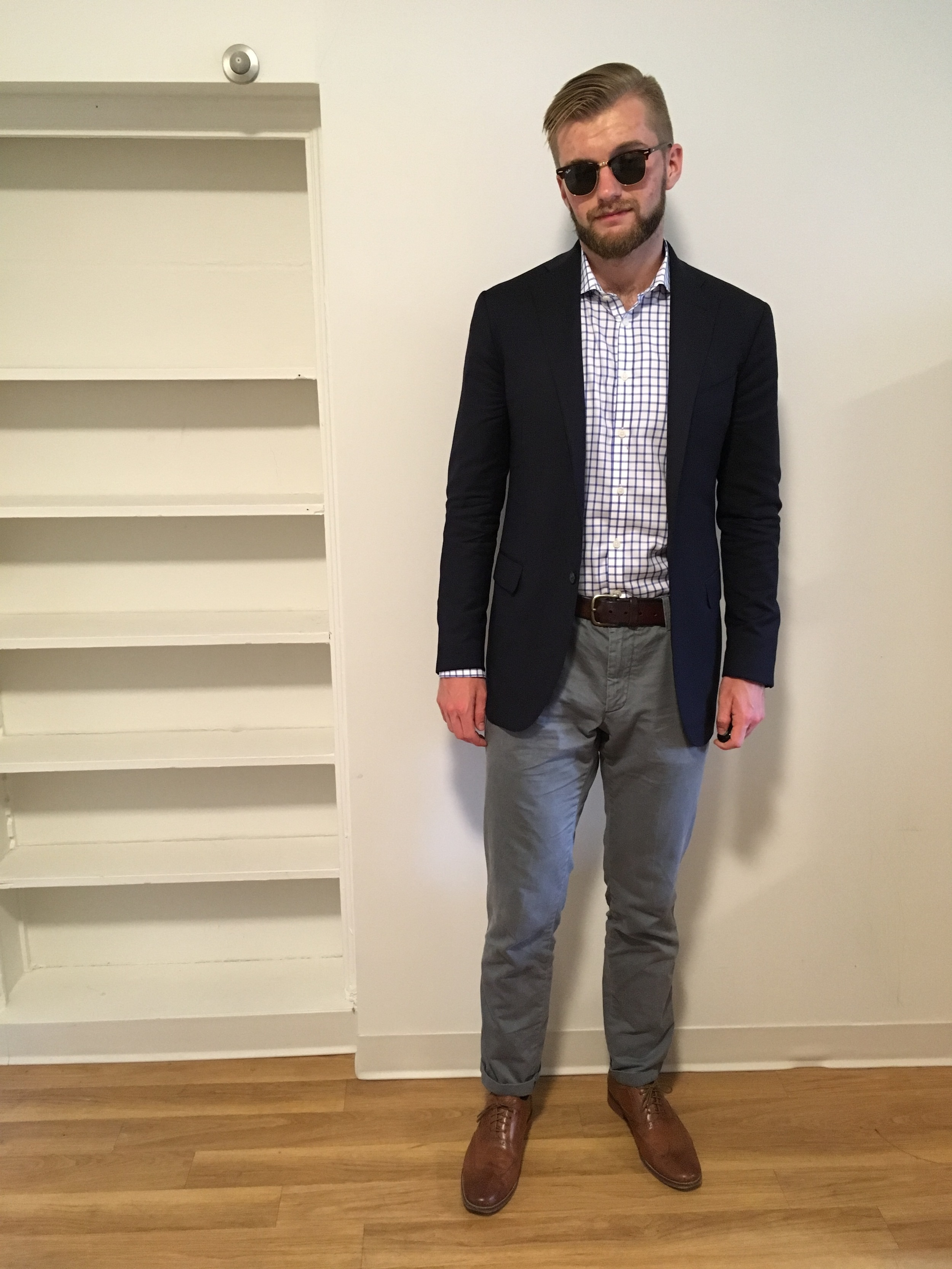 Thoughts, counting (Ray-Ban/Boyd's/Charles Tyrwhitt/Gap/Fossil/Cole Haan)