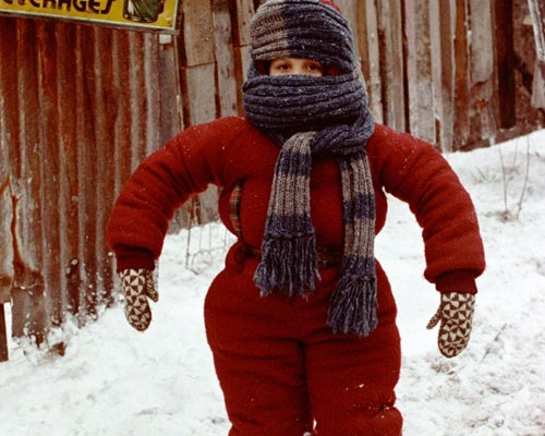 How to look foolish in a ridiculous amount of layers (photo: A Christmas Story)