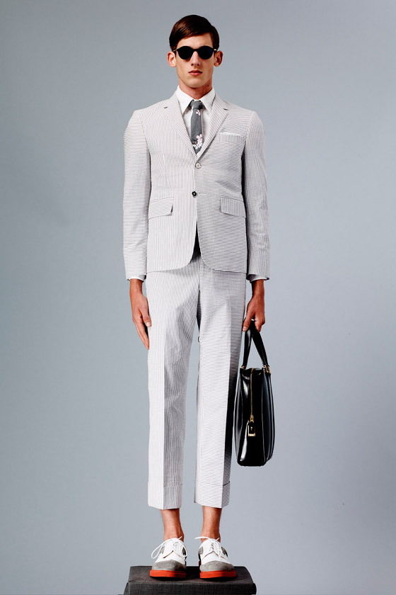 This suit fits (Thom Browne SS15)