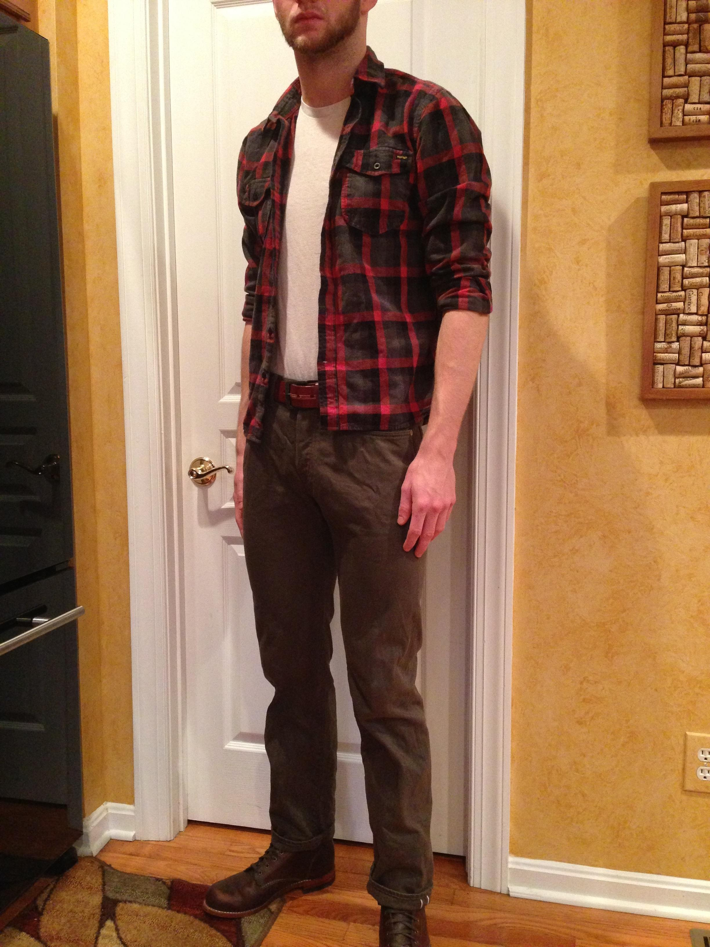 The most lumbersexual #vintage fit pic I could find.More like the  Scrawny  Paper Towels guy. Joke!