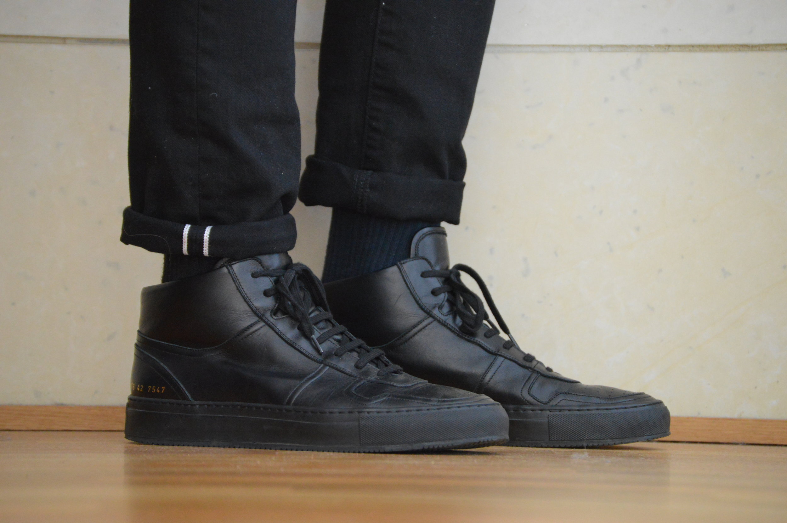 Shoe Review: Common Projects BBall High