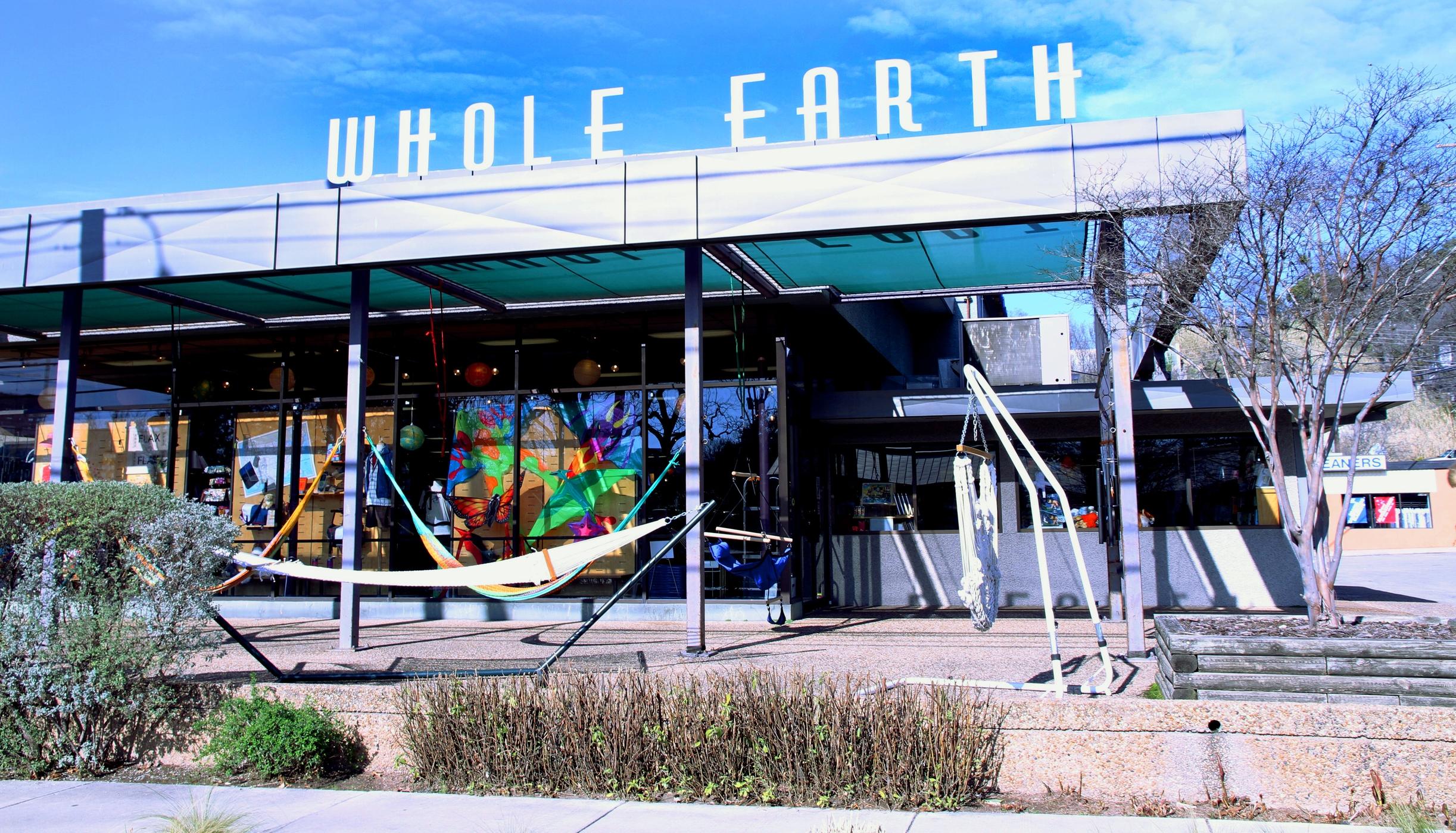 Whole Earth in Austin, TX.
