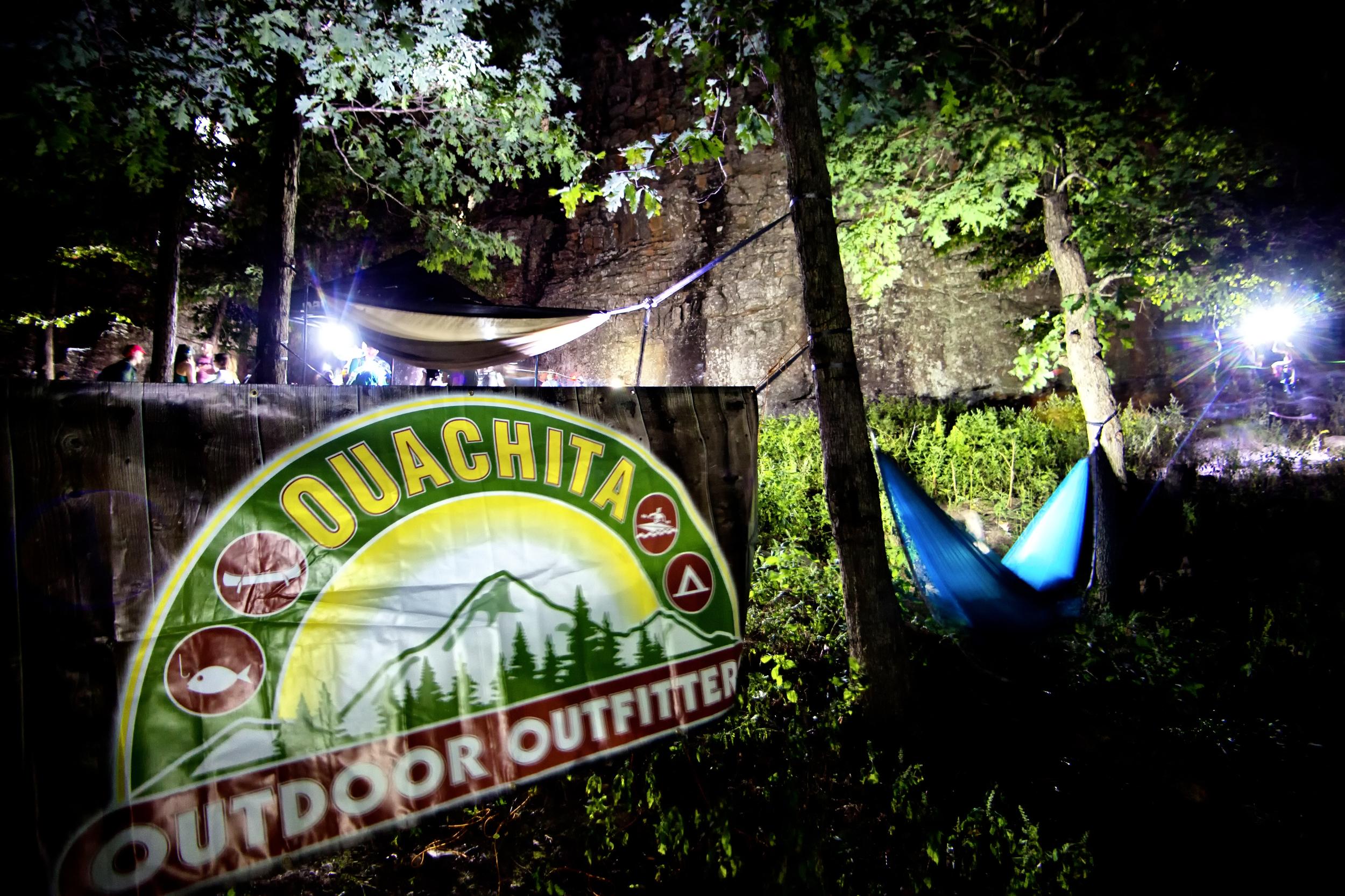 A Ouachita pop-up store at a recent event.