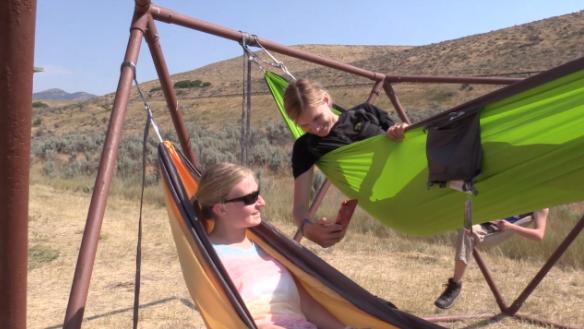 East Canyon Hammock Camp, UT