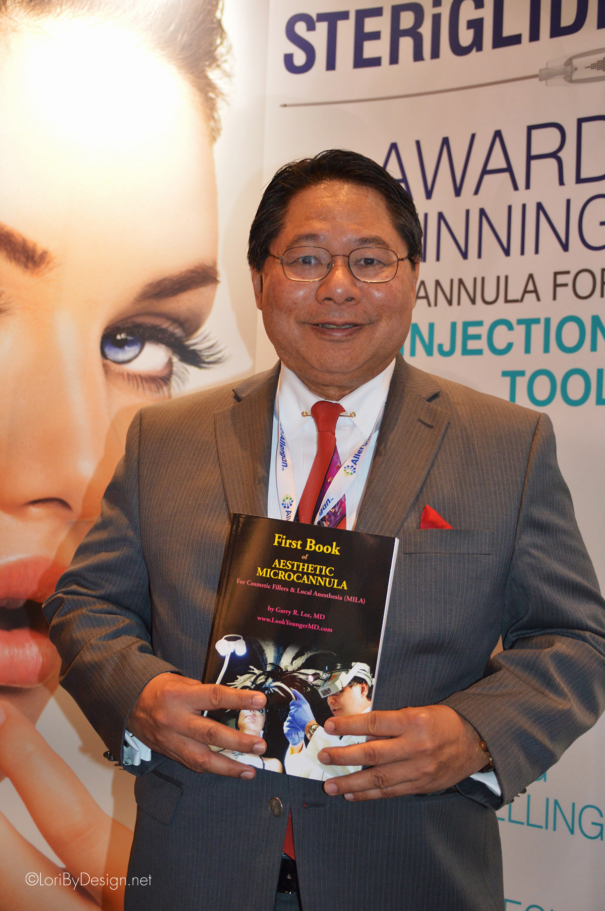 "Dr. Garry Lee, the National Award Winner for ""Best Facial Injectable Enhancement"" physician in the US, 2015. Author of the First Book of Aesthetic Microcannula."