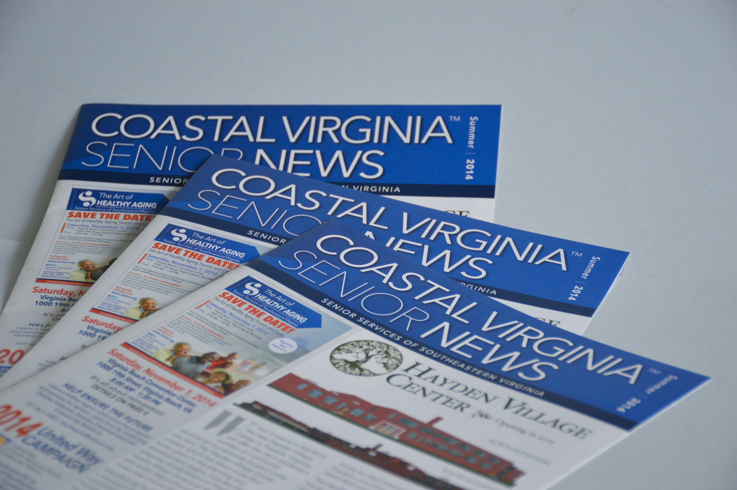 Trademarked Masthead for quarterly publication