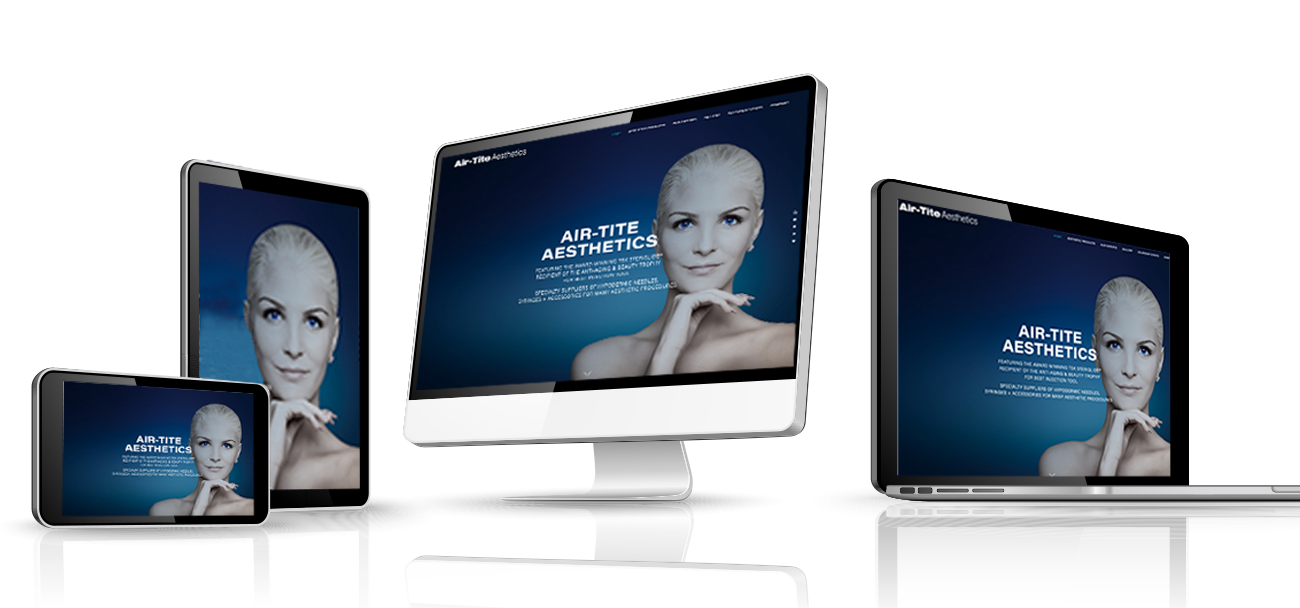 Air-Tite Aesthetics responsive website