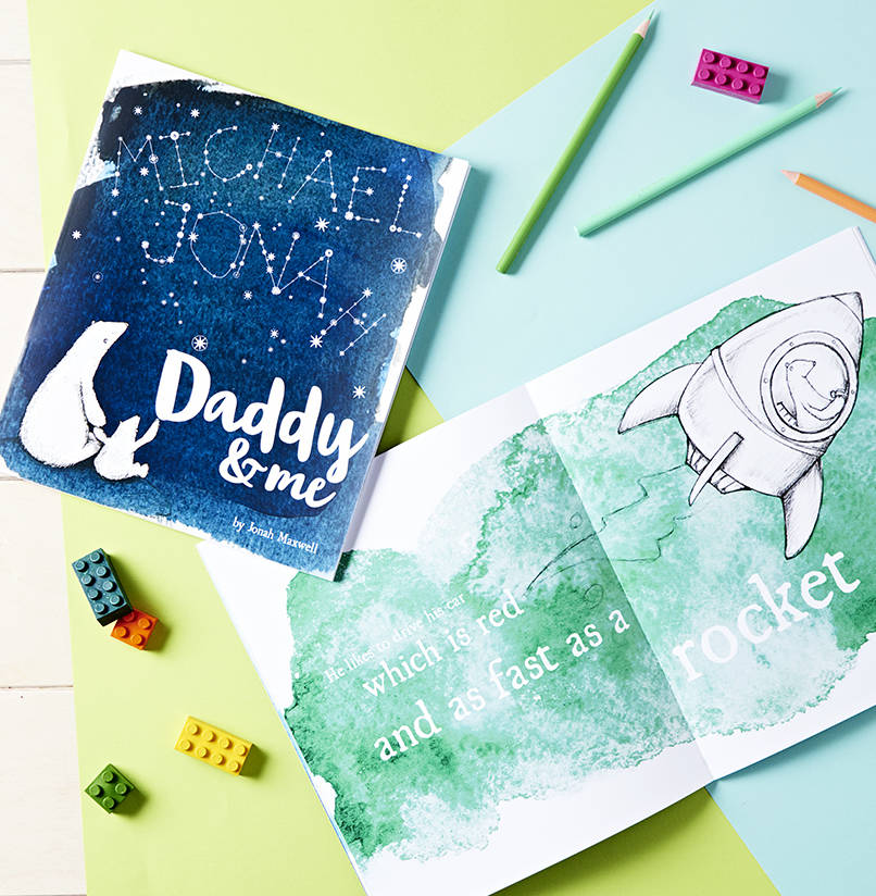 Your daddy & me book - A great excuse for dads to do the bedtime story.
