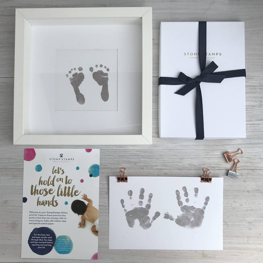 Handprints and footprints - If you've not had a chance to capture your child's hand and footprint yet, then what more excuse do you need than Father's Day?