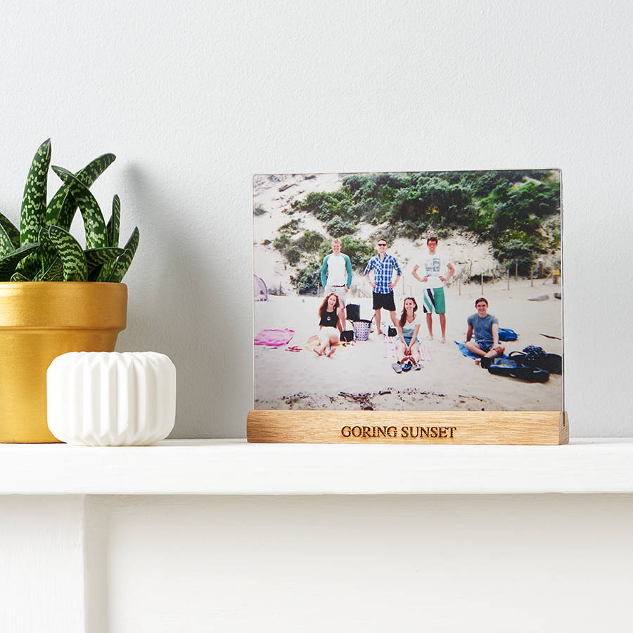 Transparent print - Quirky display for your family images... gift alongside a photoshoot voucher from Rocking Horse Photography and use the new images for next year's display.