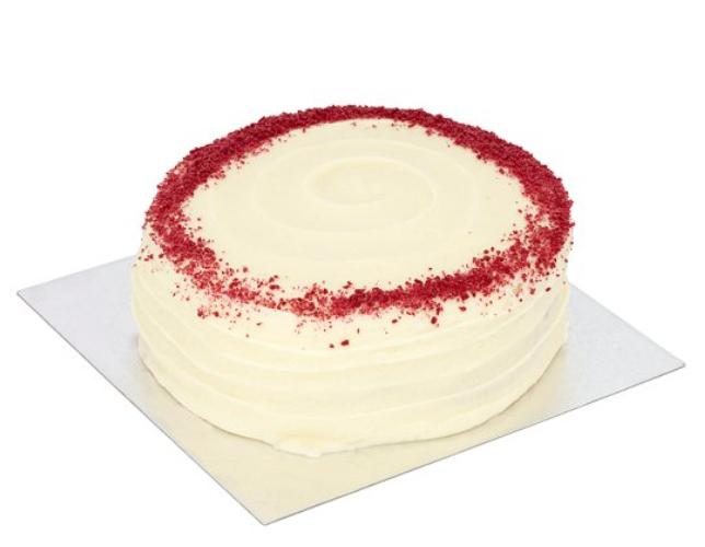 TESCO red velvet cake