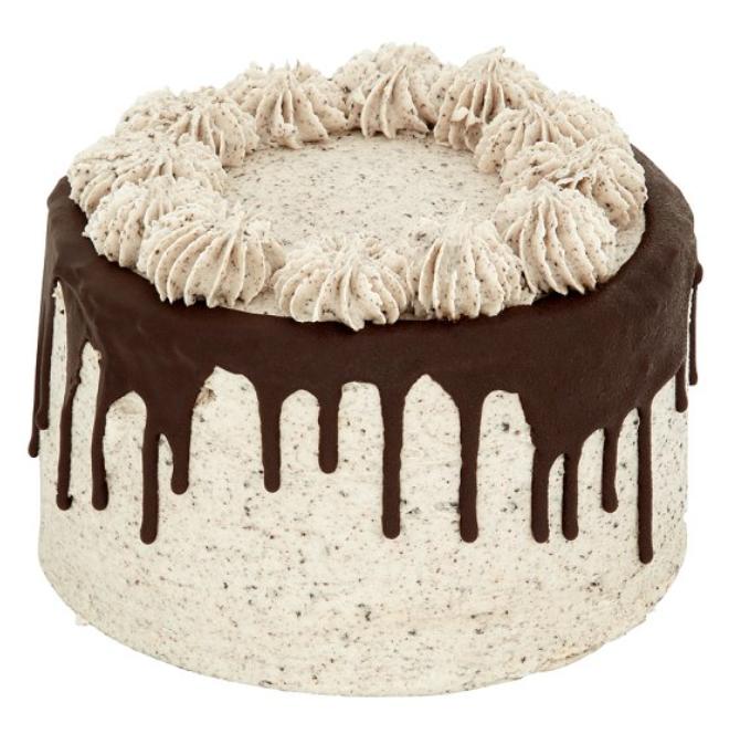 TESCO unisex cookies and cream drip cake