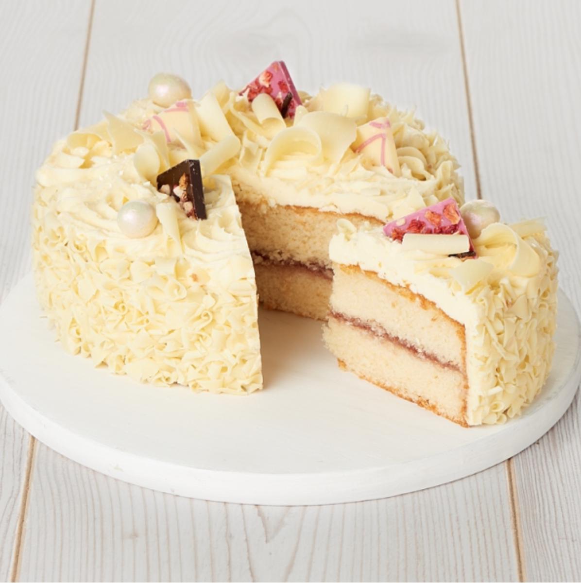 Sainsbury's white chocolate cake