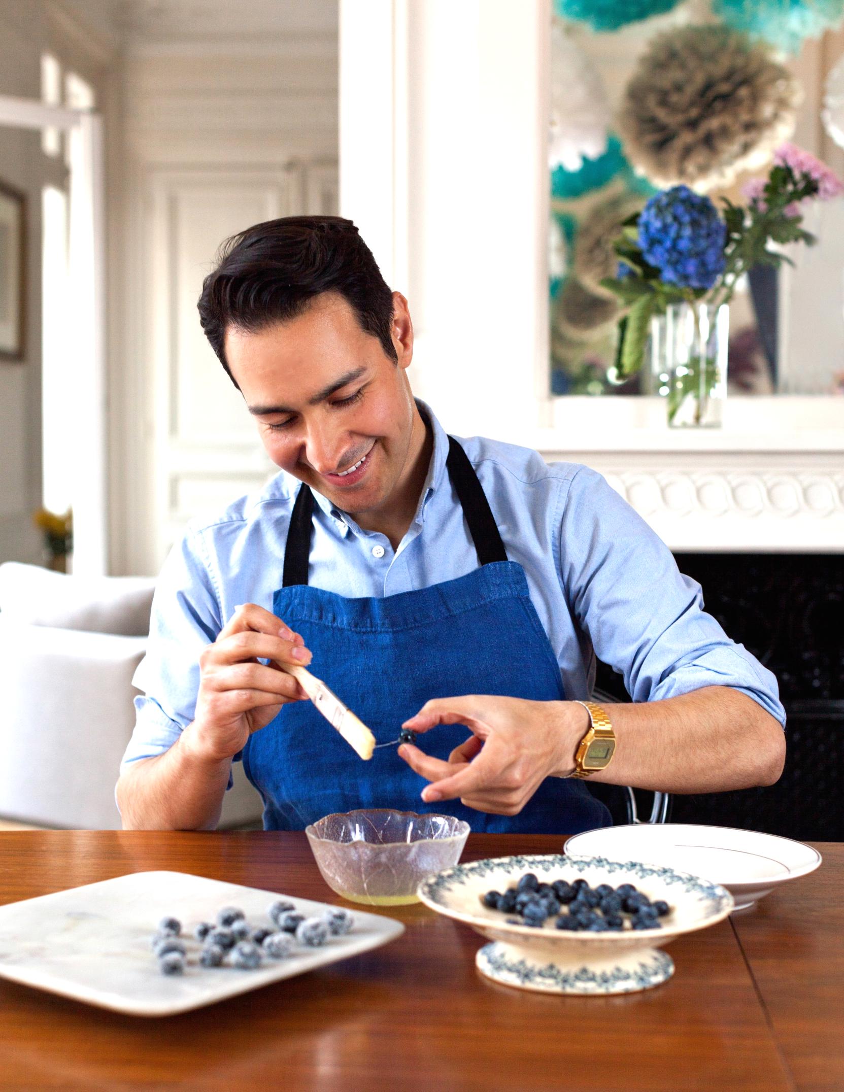 Sugaring Blueberries