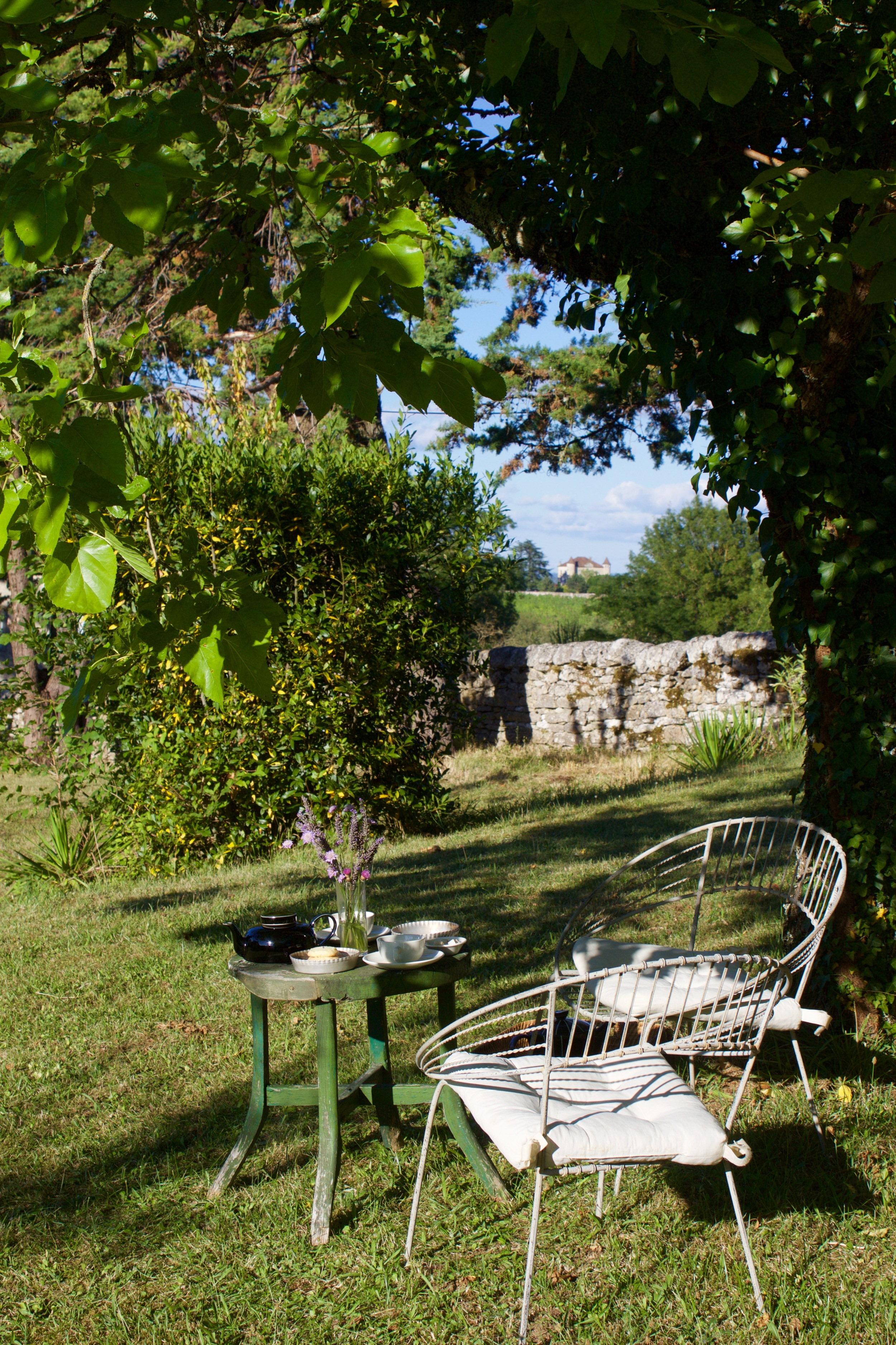 Dreamy Château off in the distance....