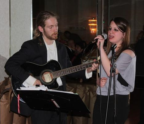 Some live music can change a corporate event from a dinner, to a party