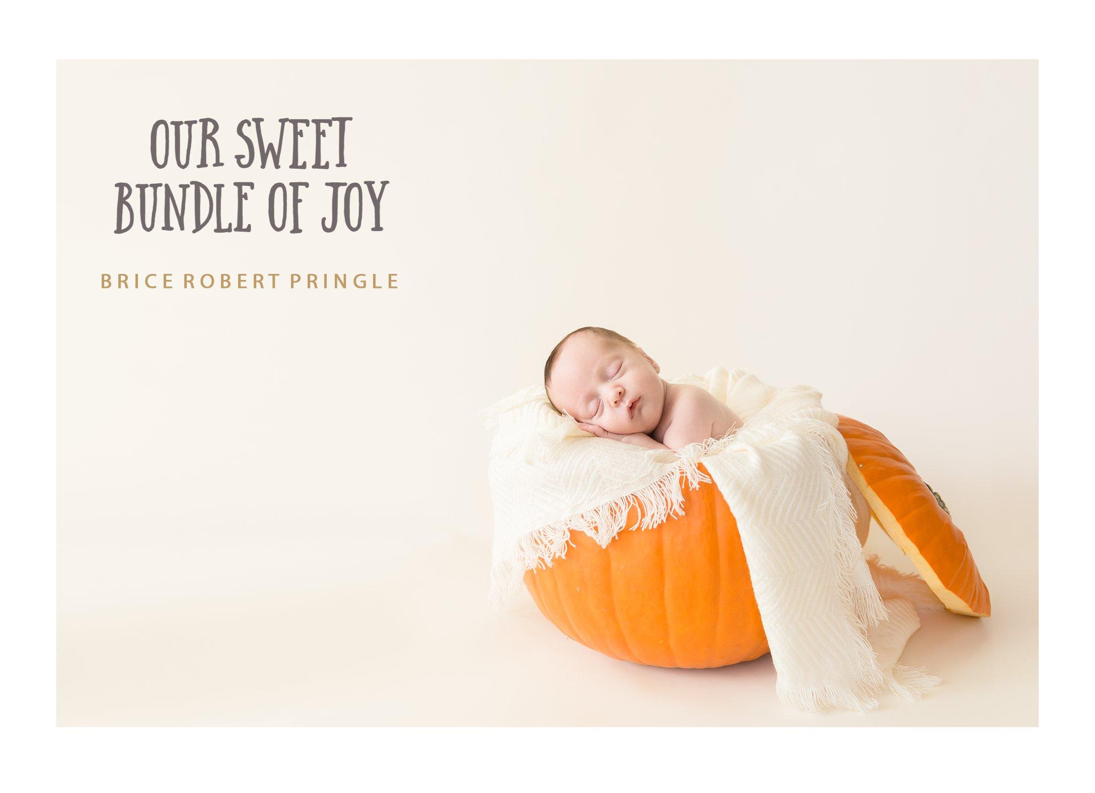Jessica Pringle Newborn Announcement Front.jpg
