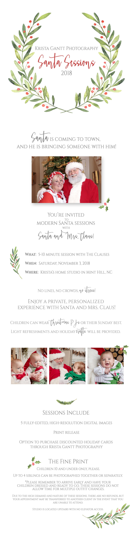 Santa Session Info