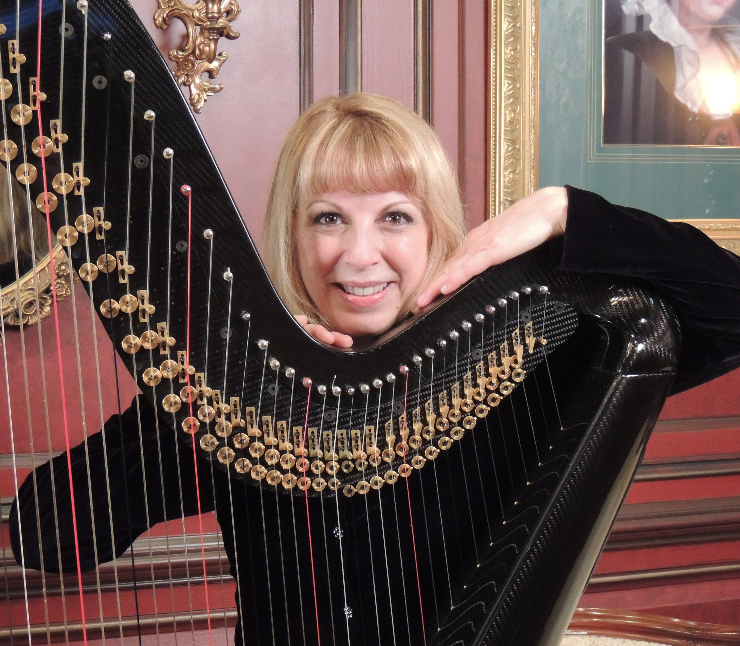 Harpist - Classical, Pop, Broadway, Jazz, World Music and Standardsfor more information call (267)577-2222 or email dco@dcoevents.com