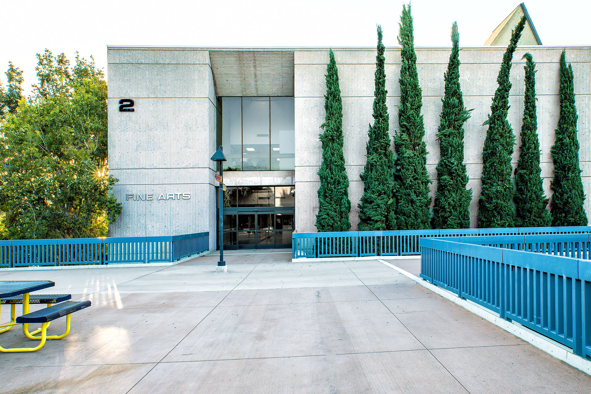 Cypress College Fine Arts Building