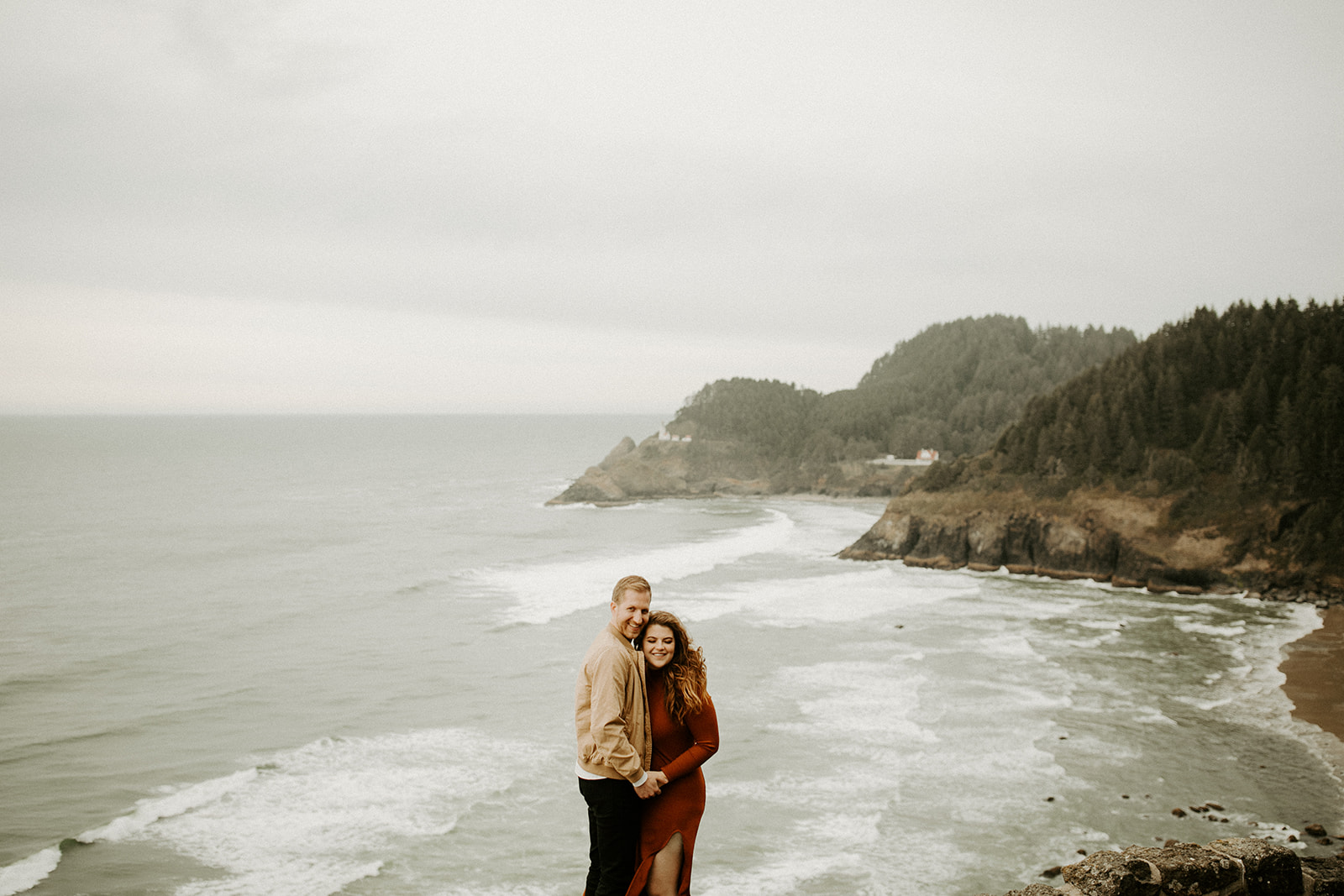 Cape Perpetua Engagement Oregon Coast | Dawn Charles Photography