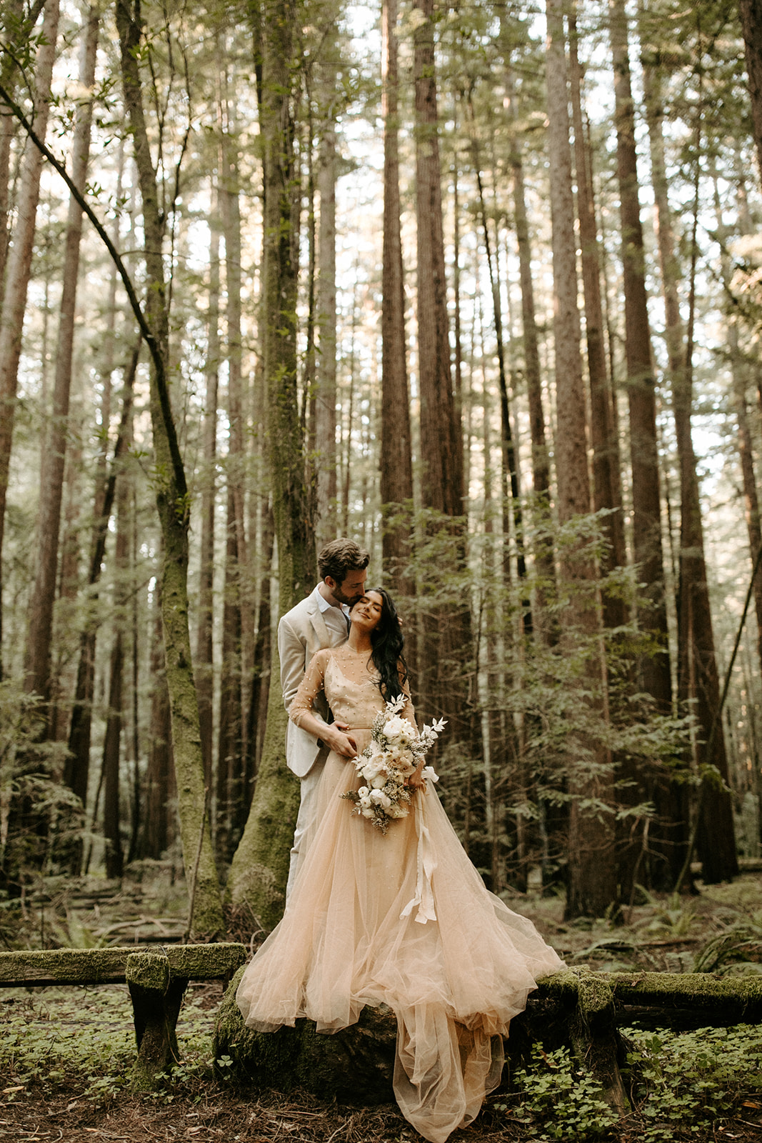 California Redwoods Styled Elopement with Cultivate Workshop