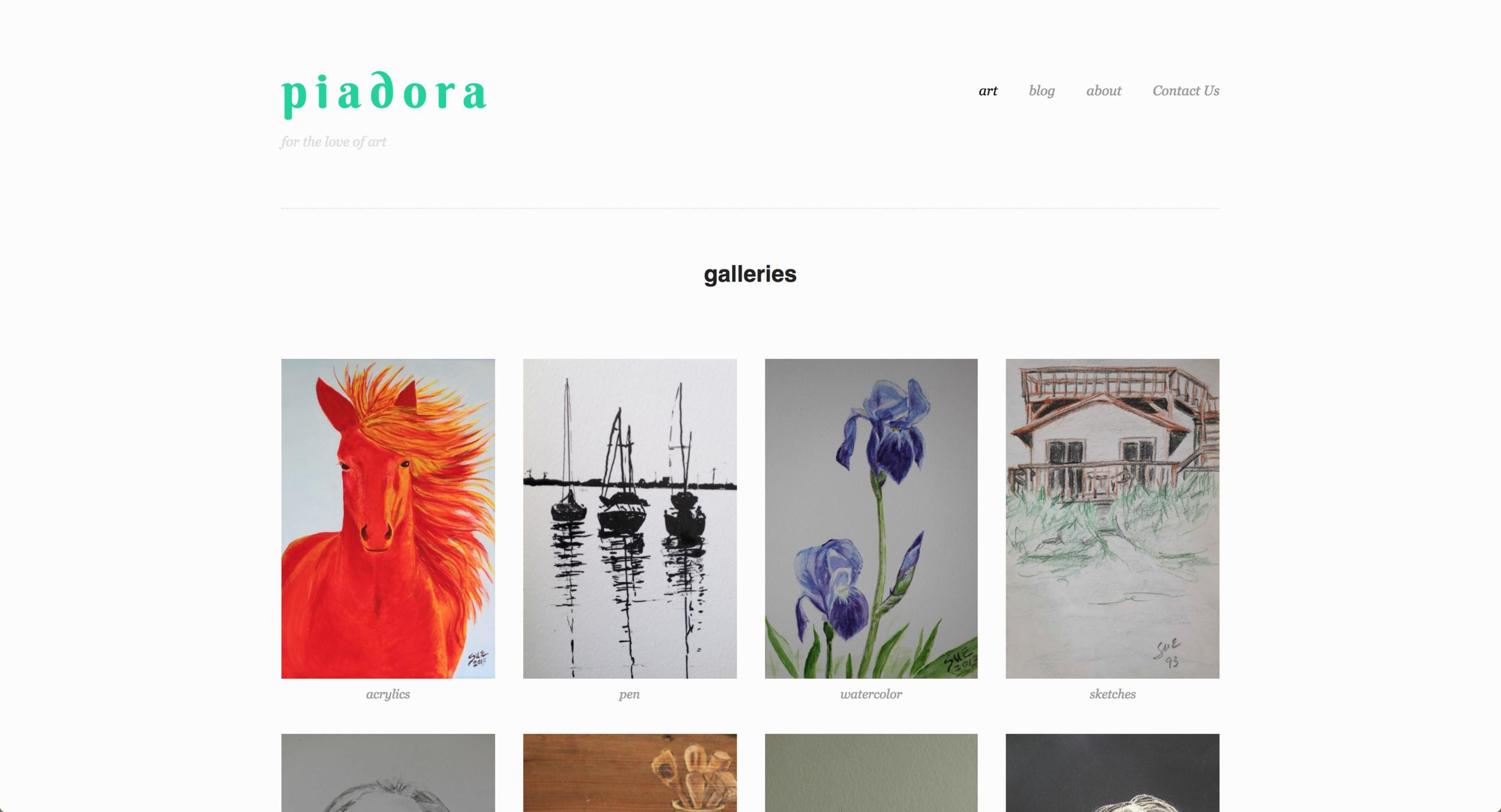PiadoraArt.com