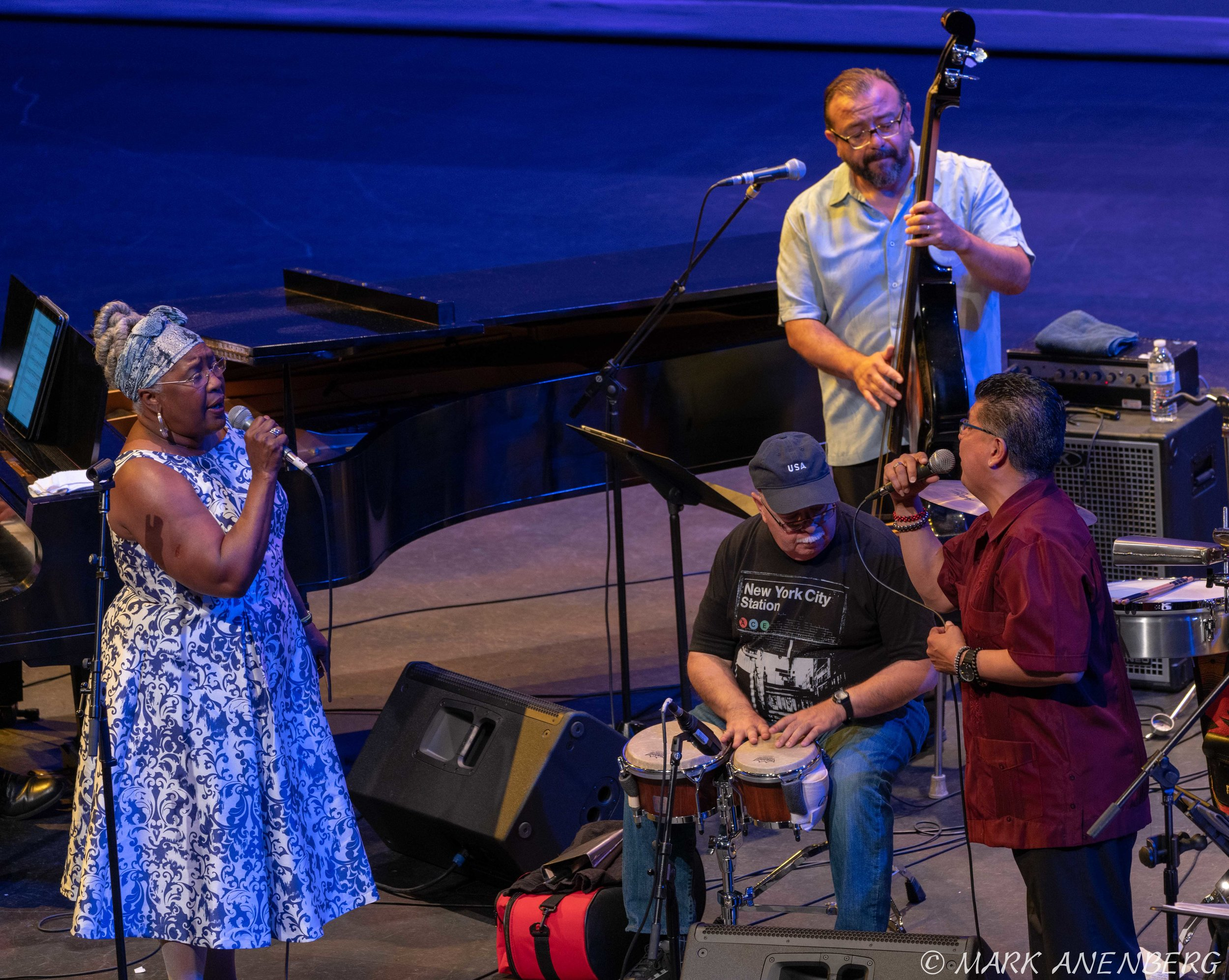 John Santos Quarter and others, San Jose Jazz Summer Fest